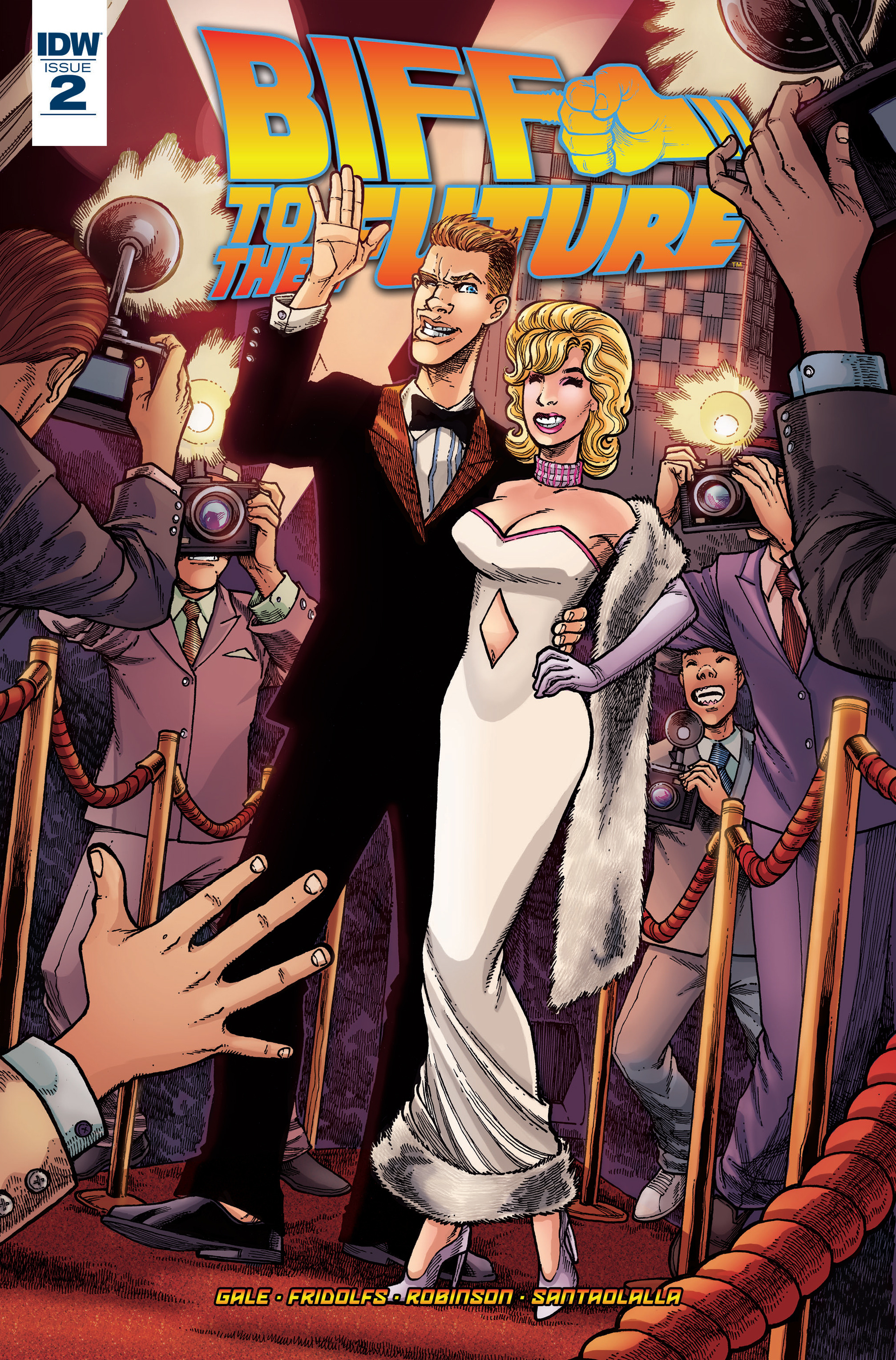 Read online Back to the Future: Biff to the Future comic -  Issue #2 - 1