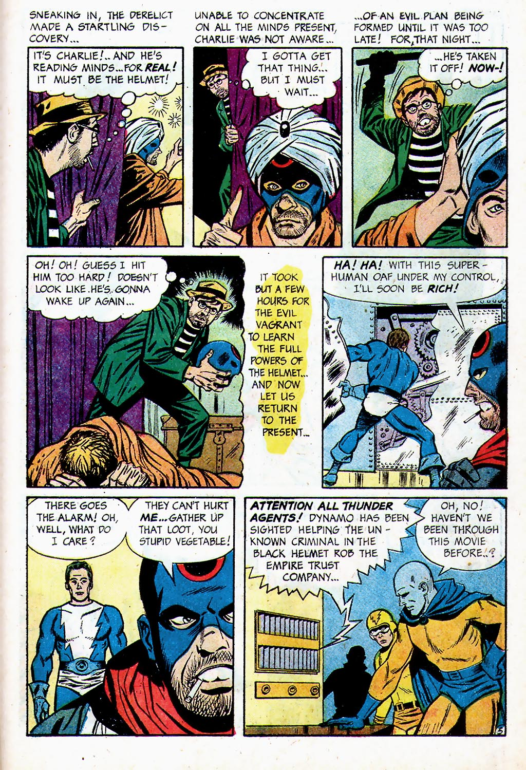 T.H.U.N.D.E.R. Agents (1965) issue 13 - Page 40