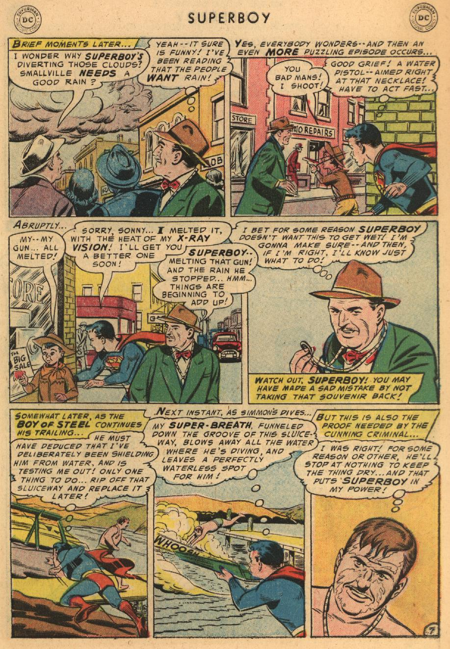 Superboy (1949) issue 45 - Page 8