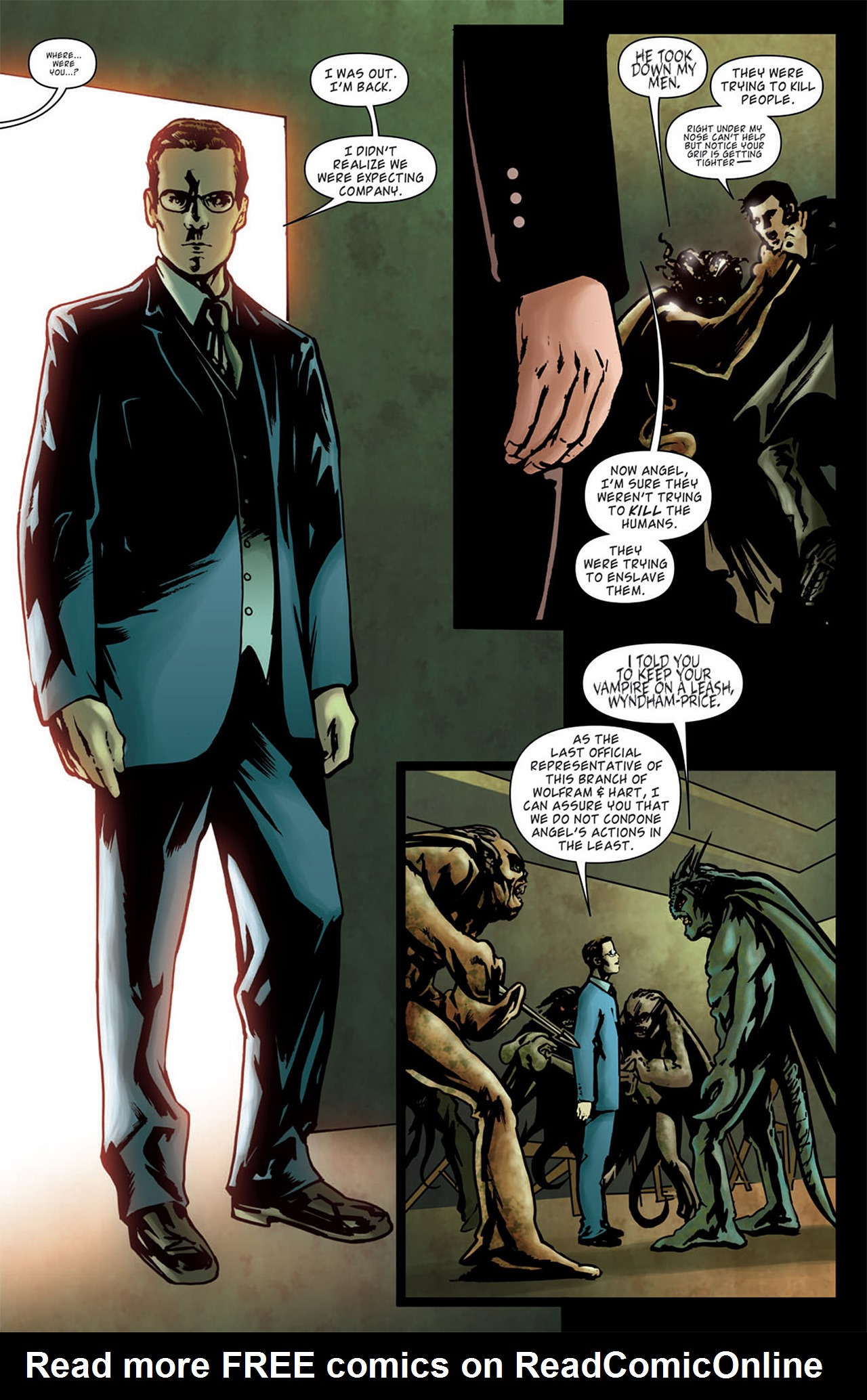 Read online Angel: After The Fall comic -  Issue #1 - 10