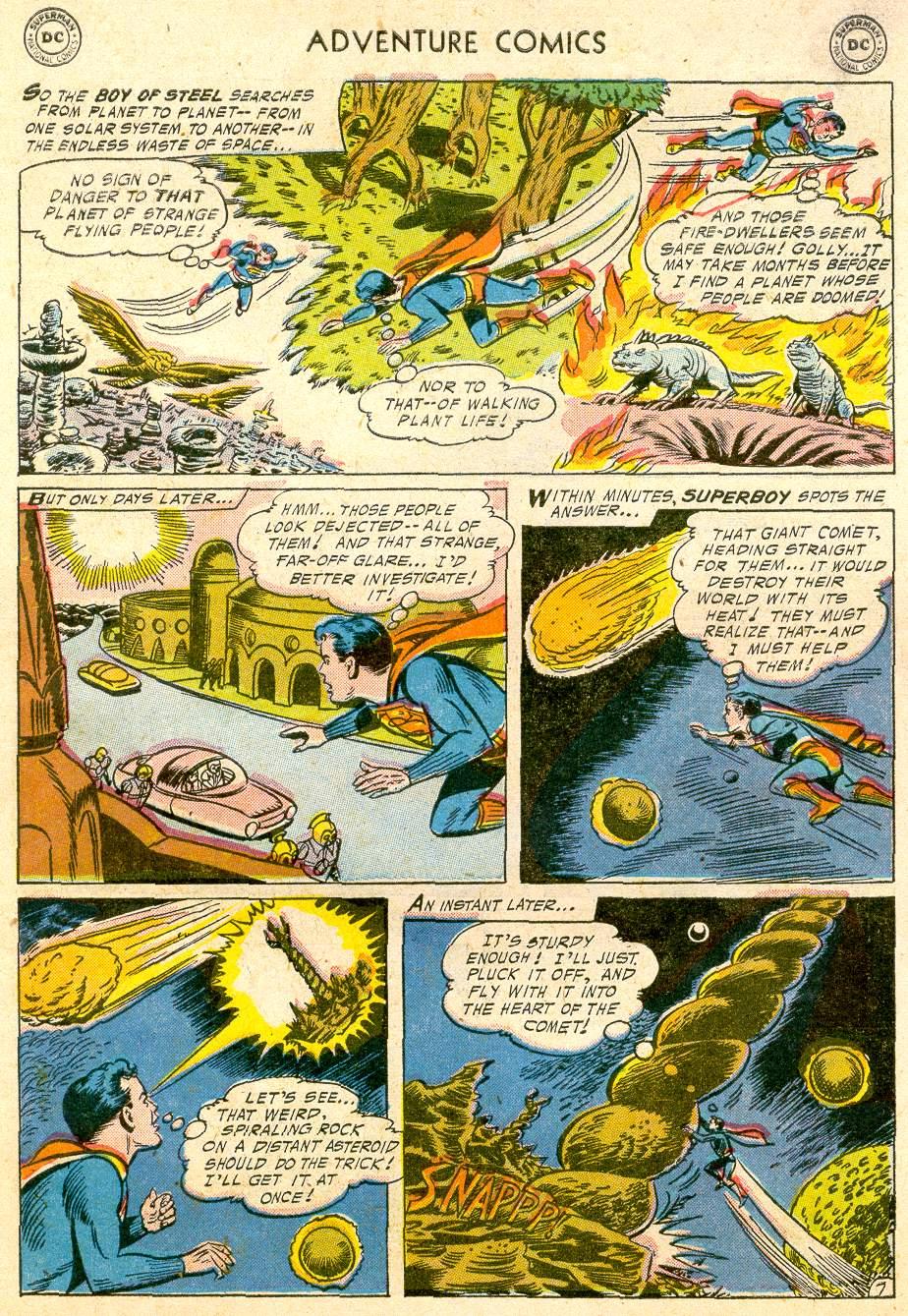 Read online Adventure Comics (1938) comic -  Issue #232 - 9