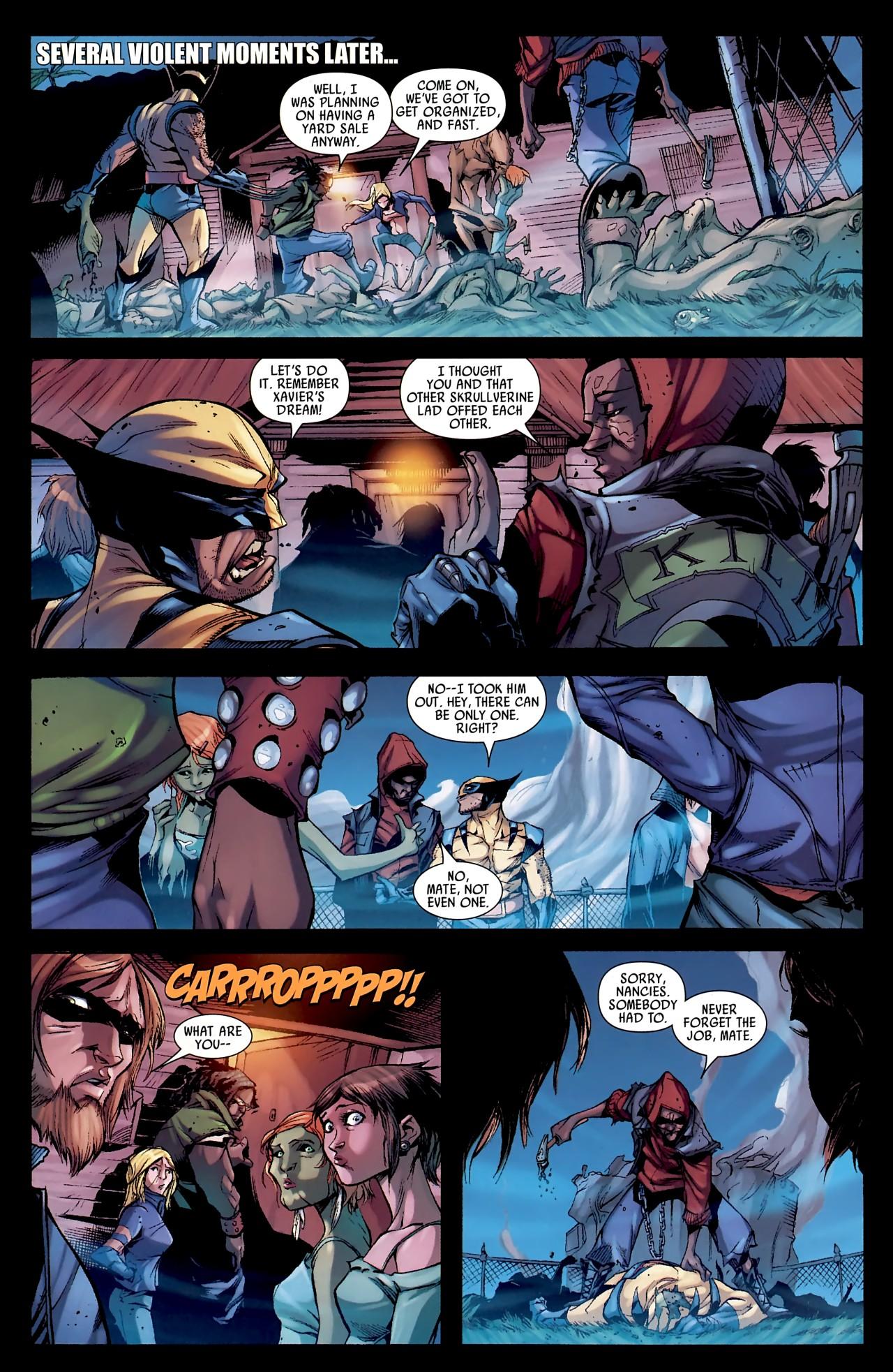 Read online Skrull Kill Krew (2009) comic -  Issue #4 - 24