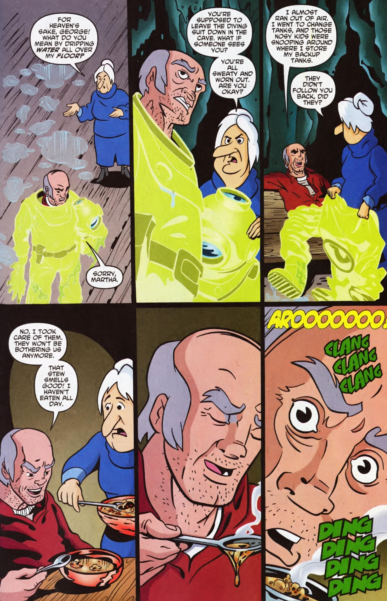 Read online Scooby-Doo (1997) comic -  Issue #135 - 13