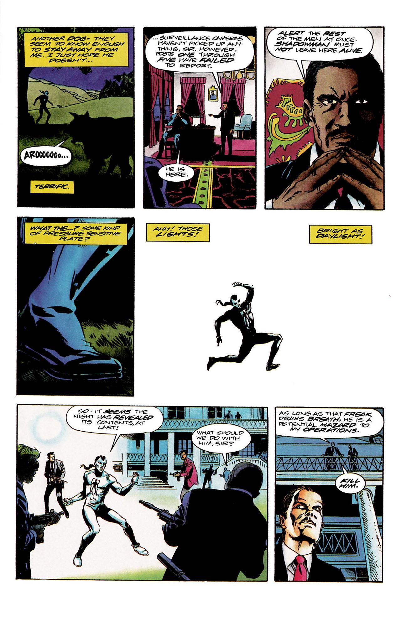 Read online Shadowman (1992) comic -  Issue #9 - 10