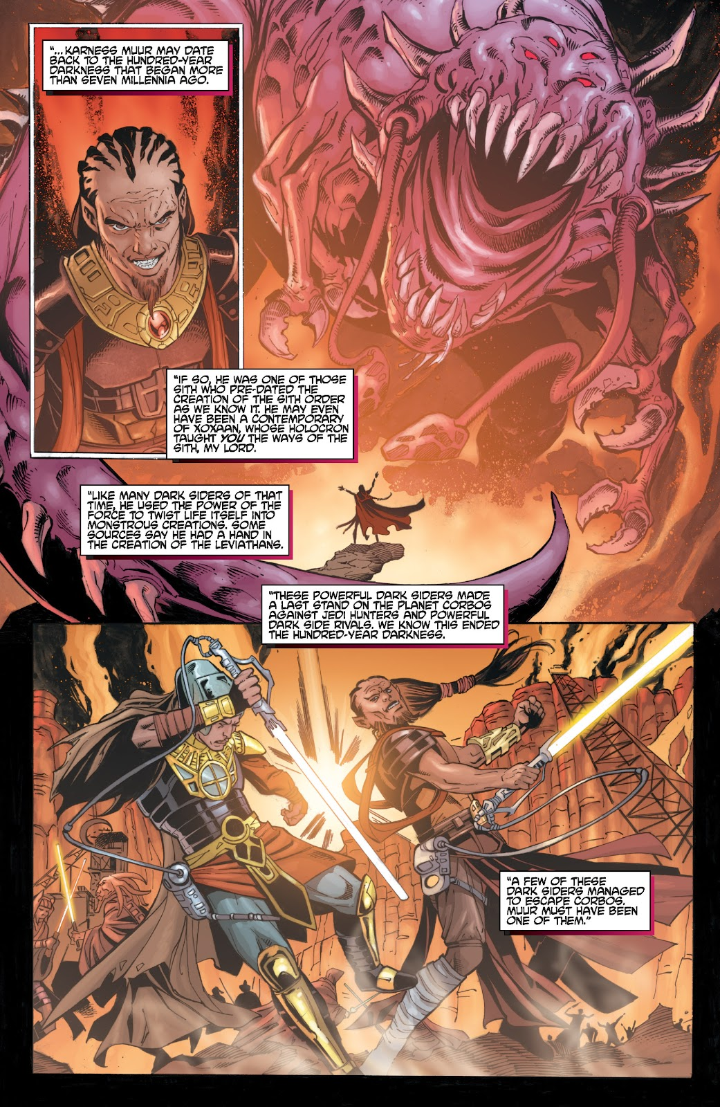 Read online Star Wars Legends: Legacy - Epic Collection comic -  Issue # TPB 2 (Part 3) - 53