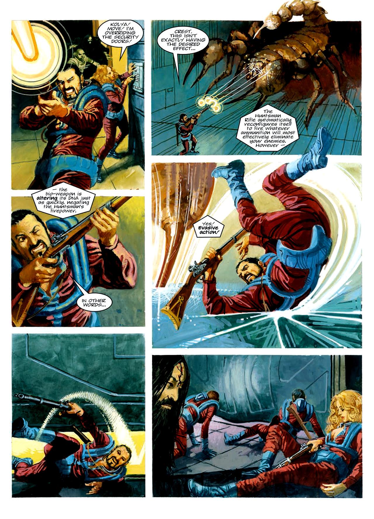 Read online Nikolai Dante comic -  Issue # TPB 6 - 183