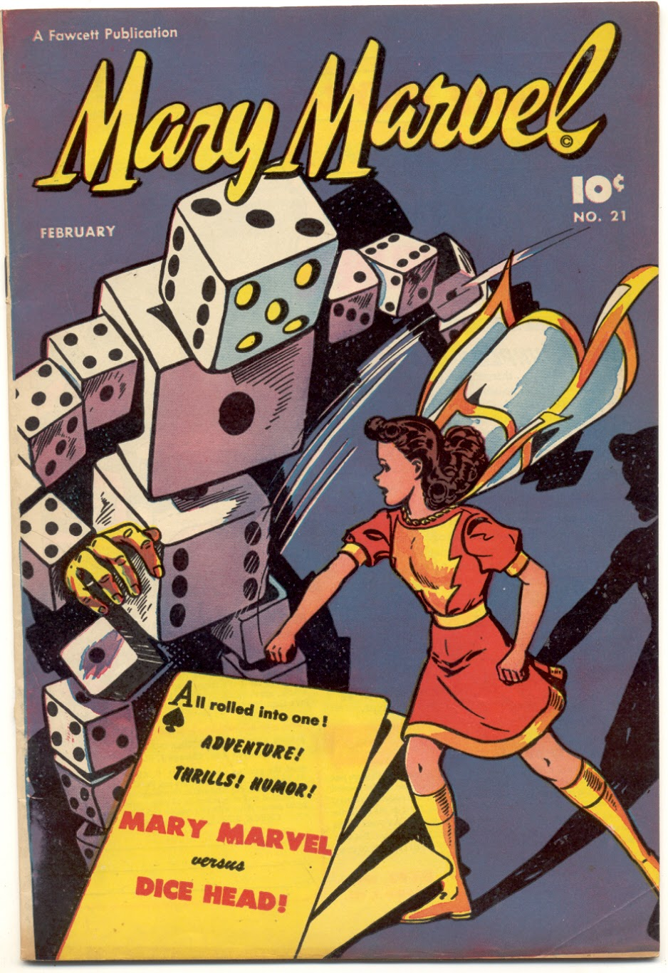 Mary Marvel 21 Page 1