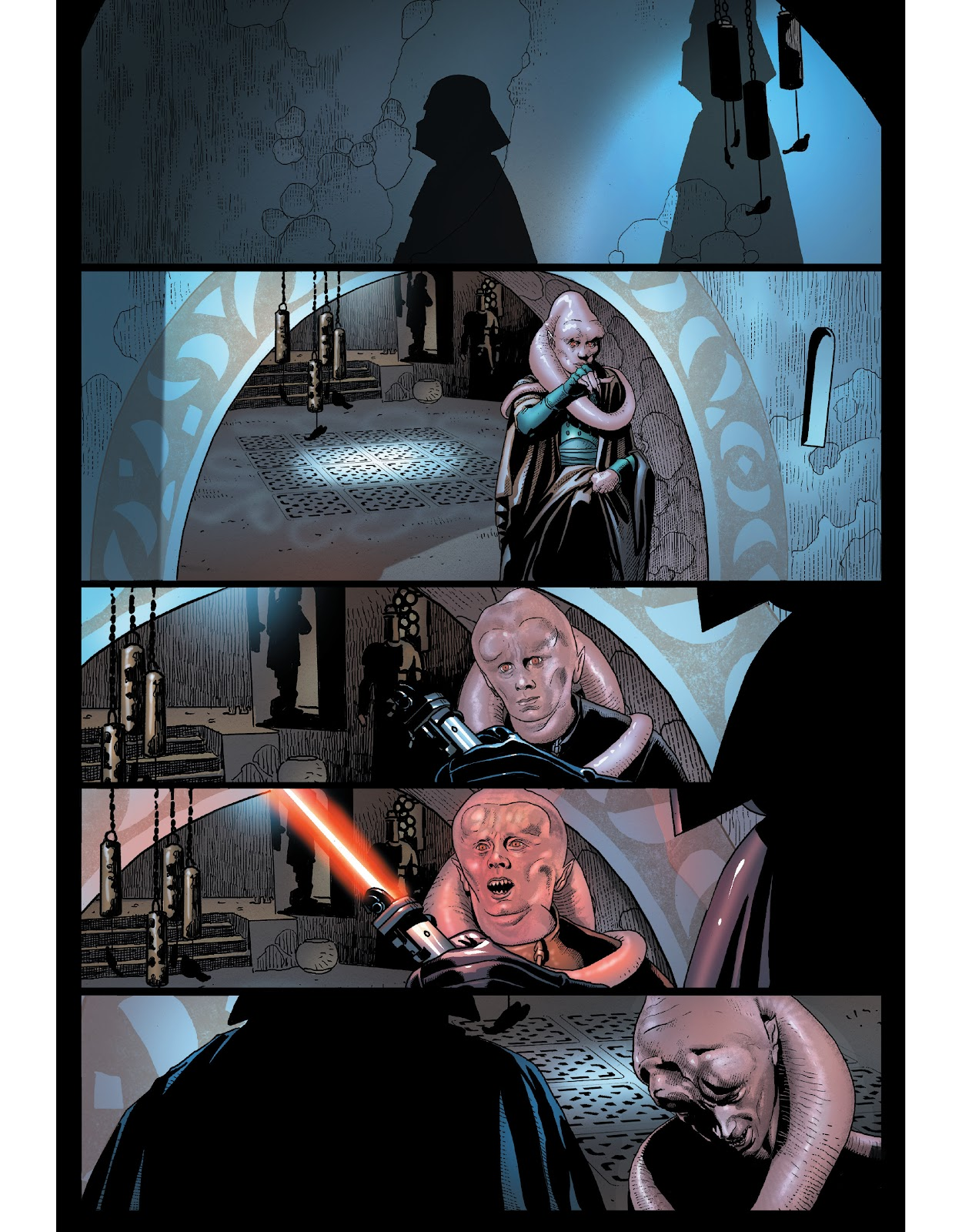 Read online The Marvel Art of Star Wars comic -  Issue # TPB (Part 1) - 54