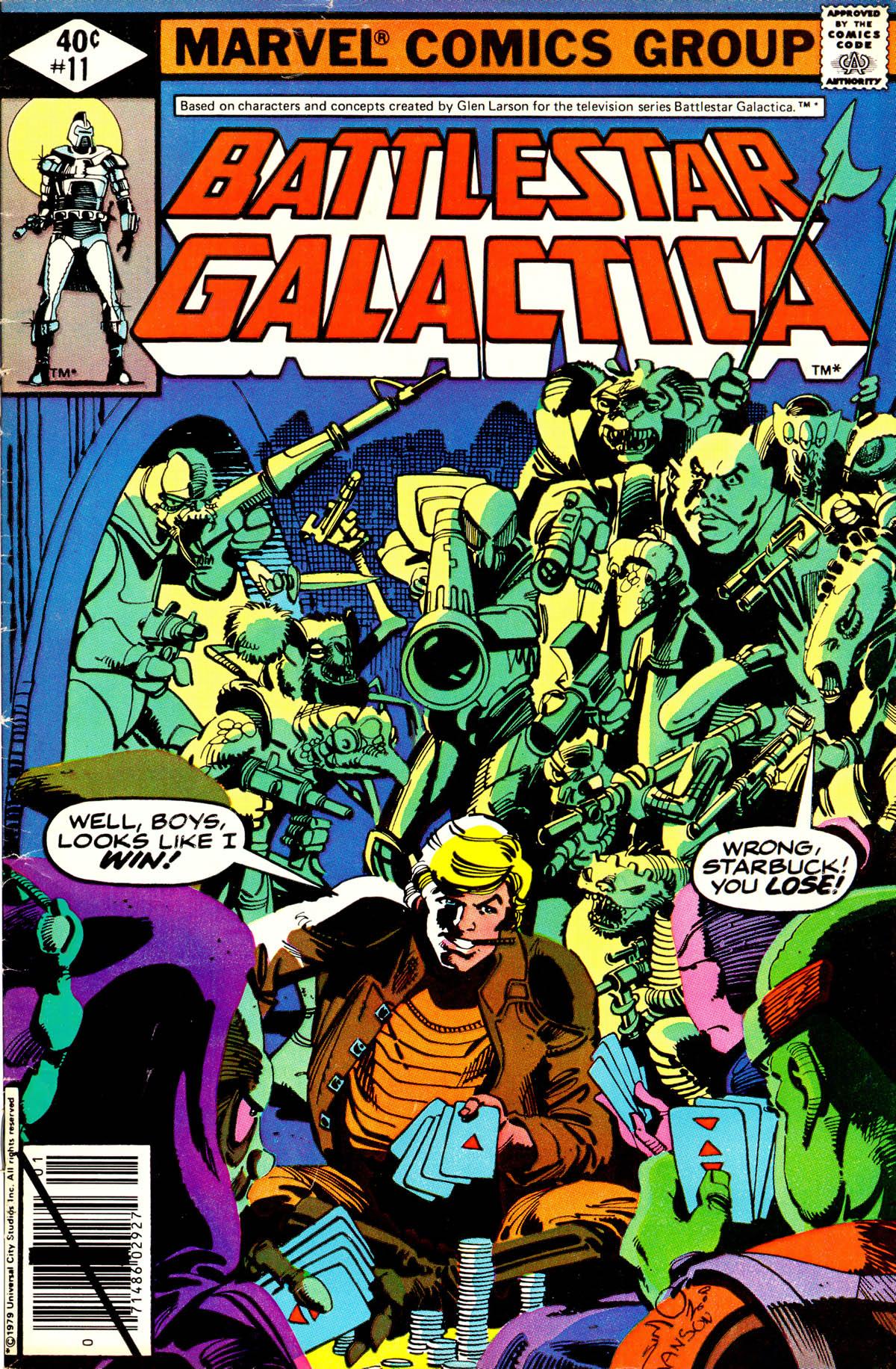 Battlestar Galactica 11 Page 1