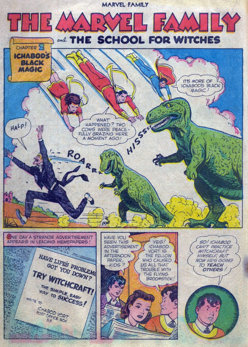 The Marvel Family issue 52 - Page 17