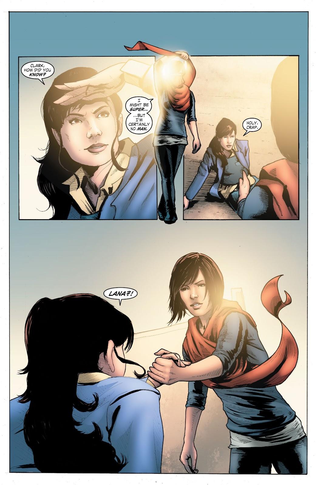 Read online Smallville Season 11 [II] comic -  Issue # TPB 4 - 112