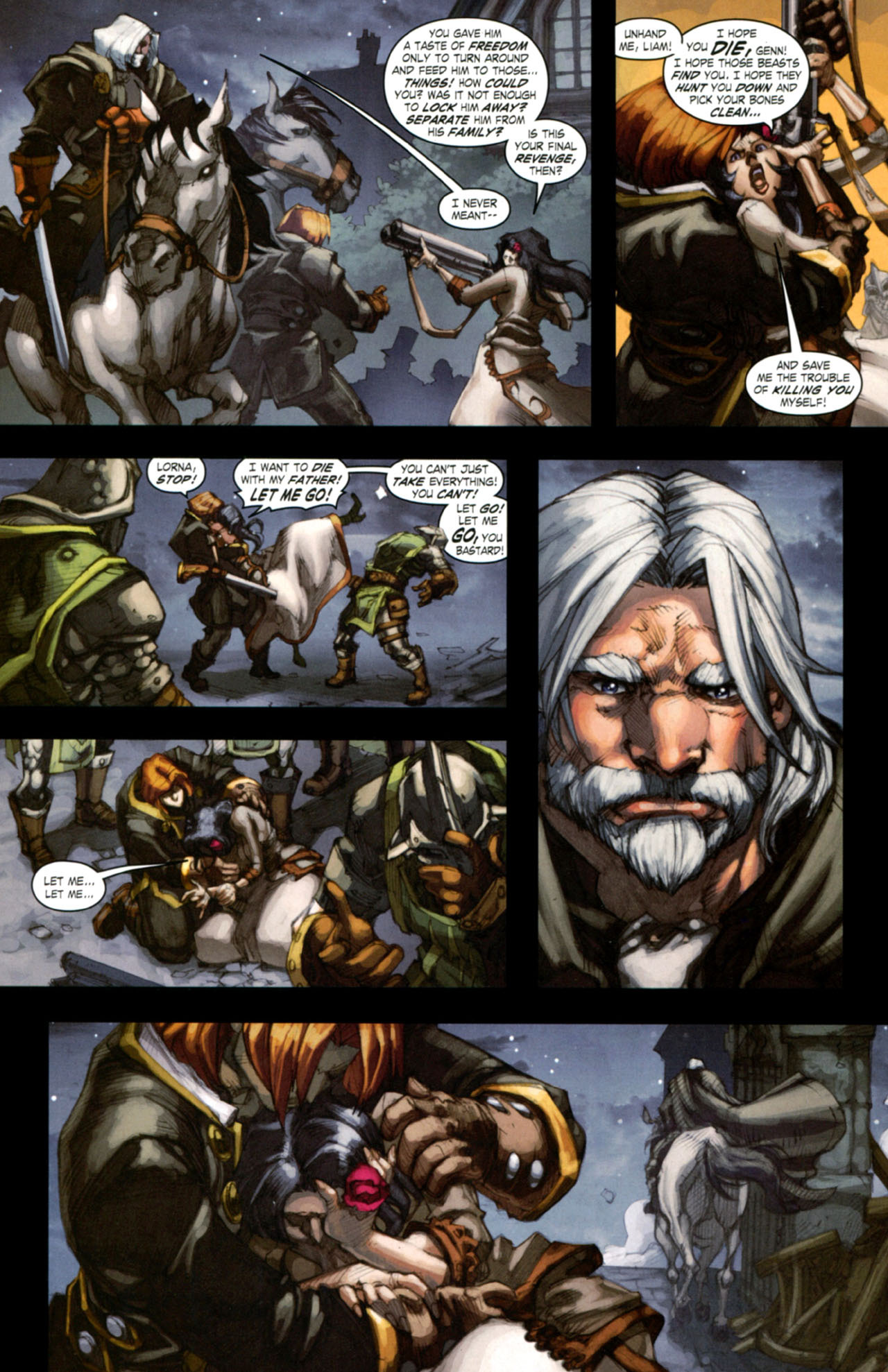 Read online World of Warcraft: Curse of the Worgen comic -  Issue #4 - 21