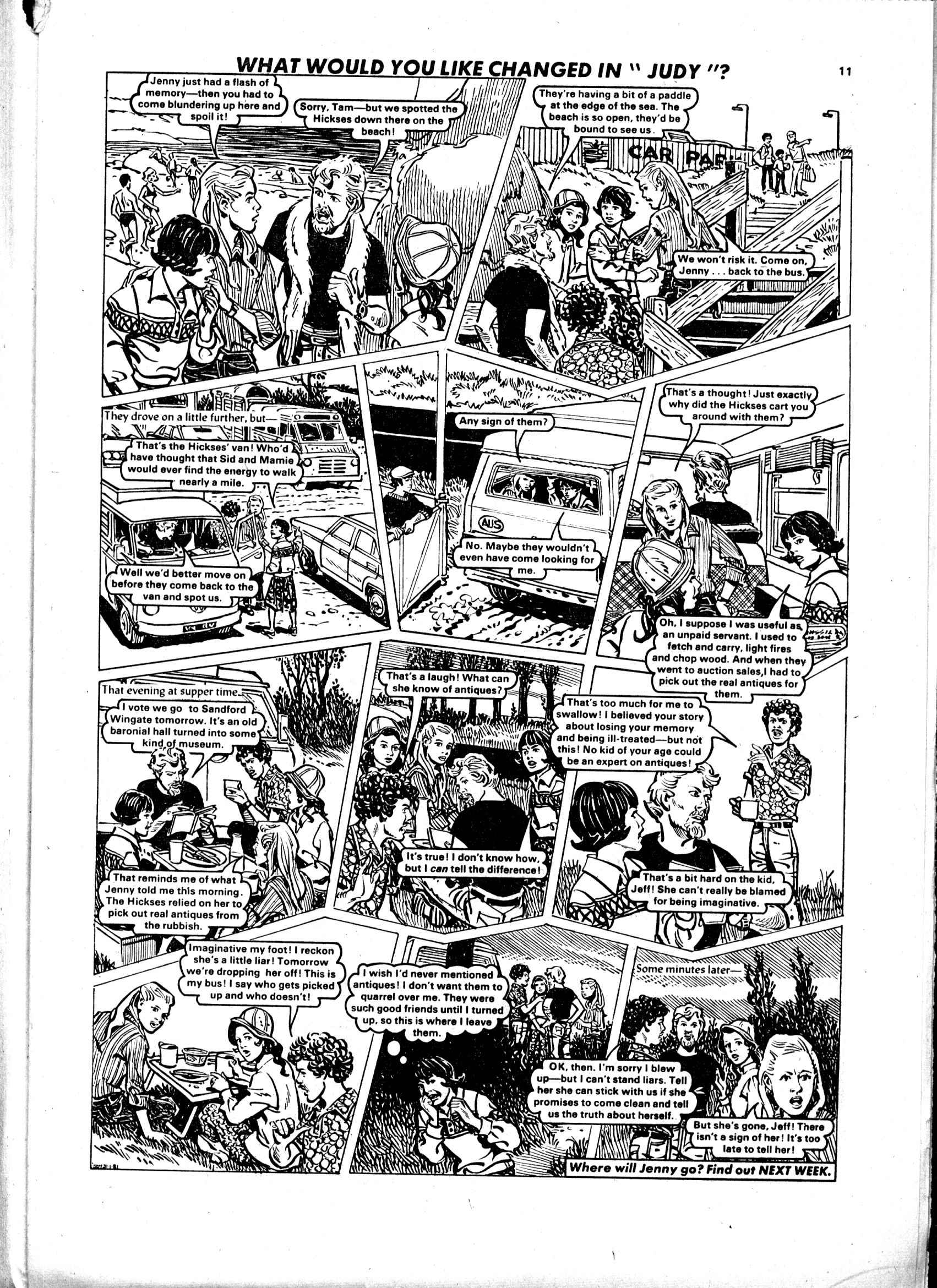 Read online Judy comic -  Issue #99 - 11