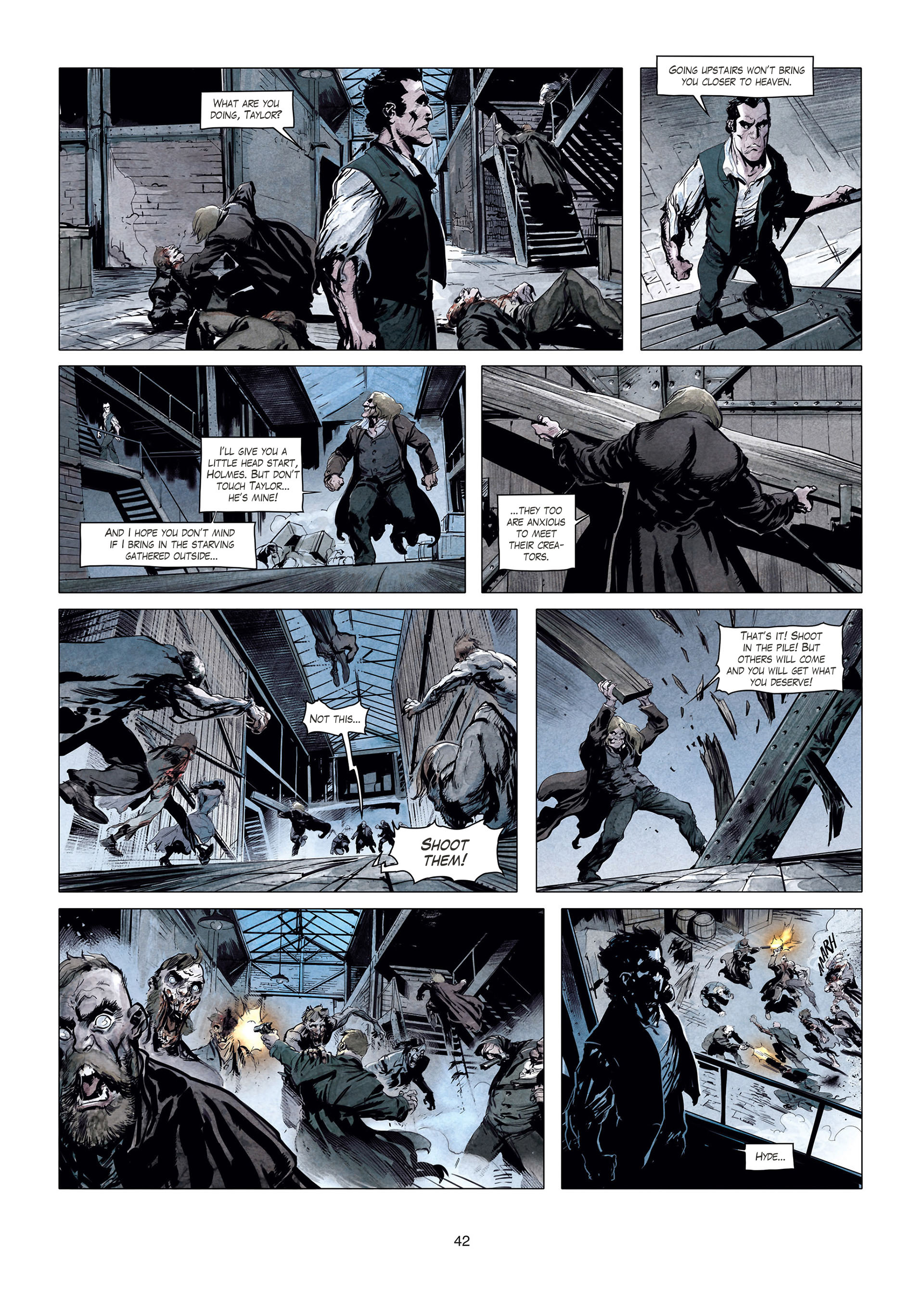 Read online Sherlock Holmes Society Tome 4 : Contamination comic -  Issue # Full - 42