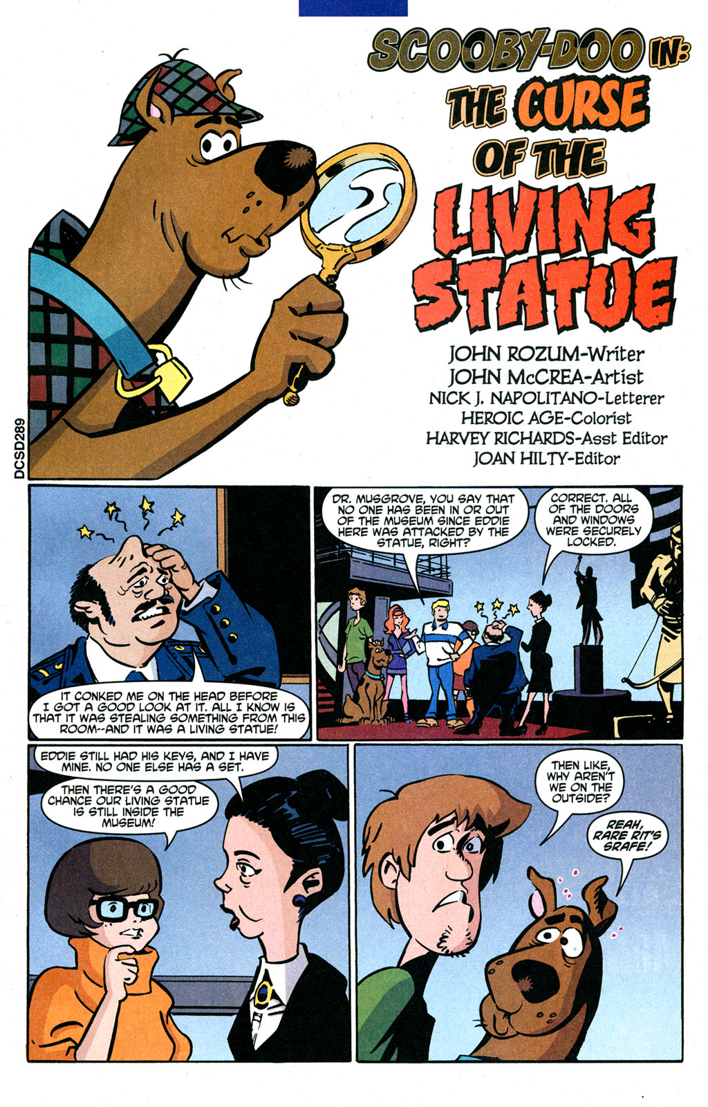 Read online Scooby-Doo (1997) comic -  Issue #92 - 16