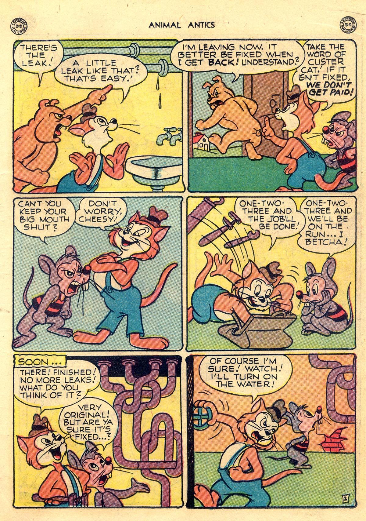 Read online Animal Antics comic -  Issue #10 - 21