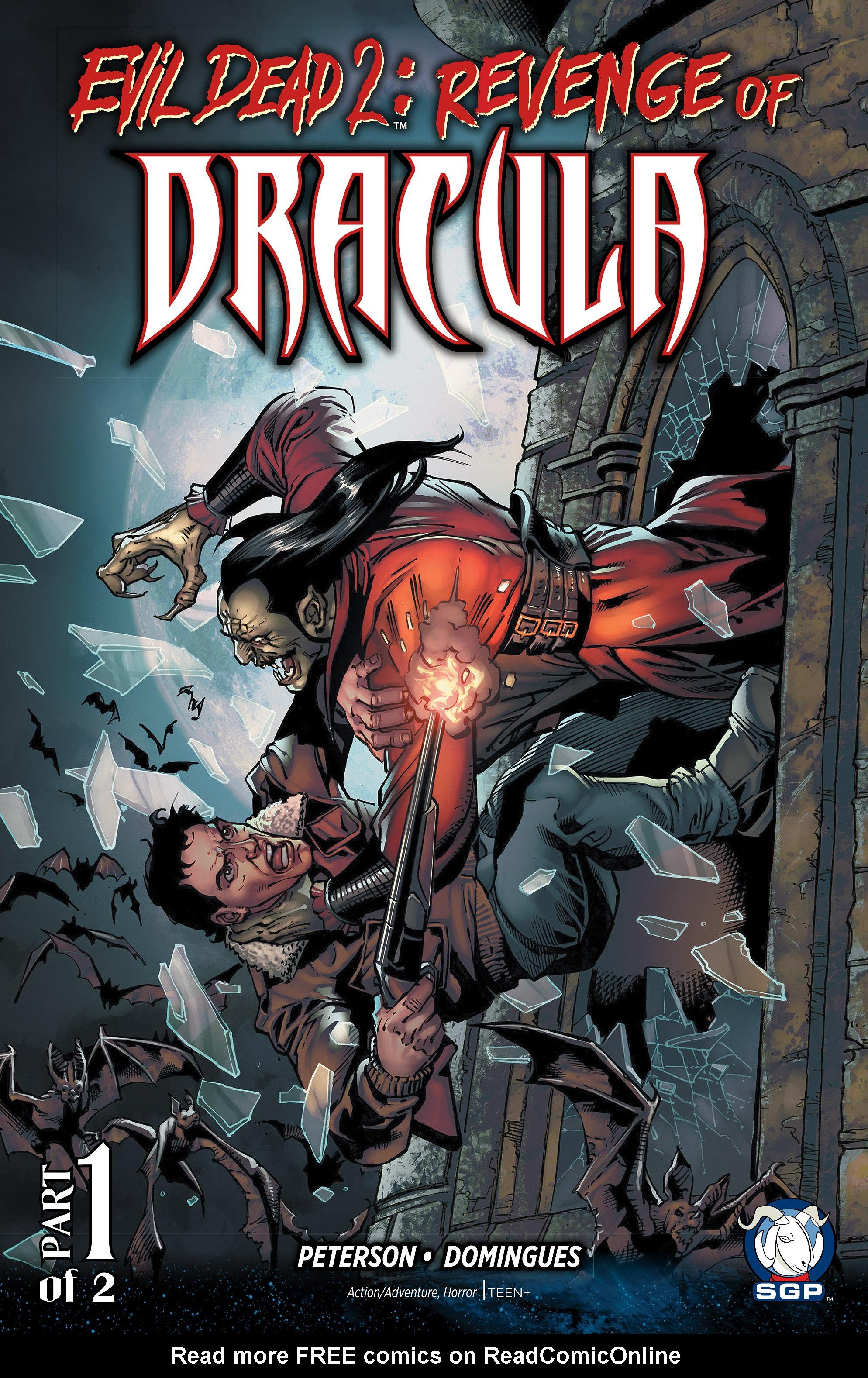 Evil Dead 2: Revenge of Dracula 1 Page 1