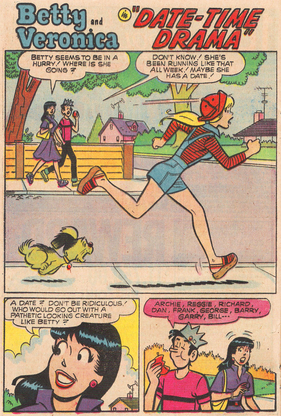 Read online Archie's Girls Betty and Veronica comic -  Issue #249 - 20