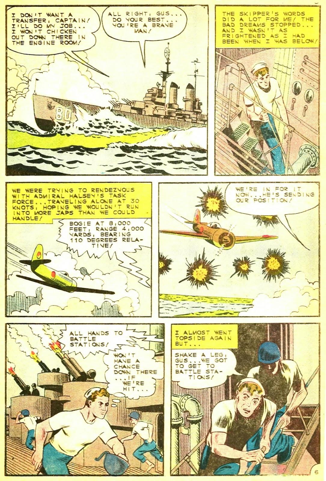 Read online Fightin' Navy comic -  Issue #124 - 10