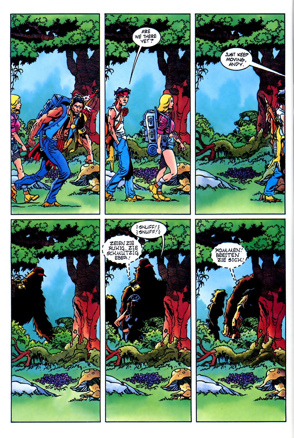 Read online Turok, Dinosaur Hunter (1993) comic -  Issue #37 - 8