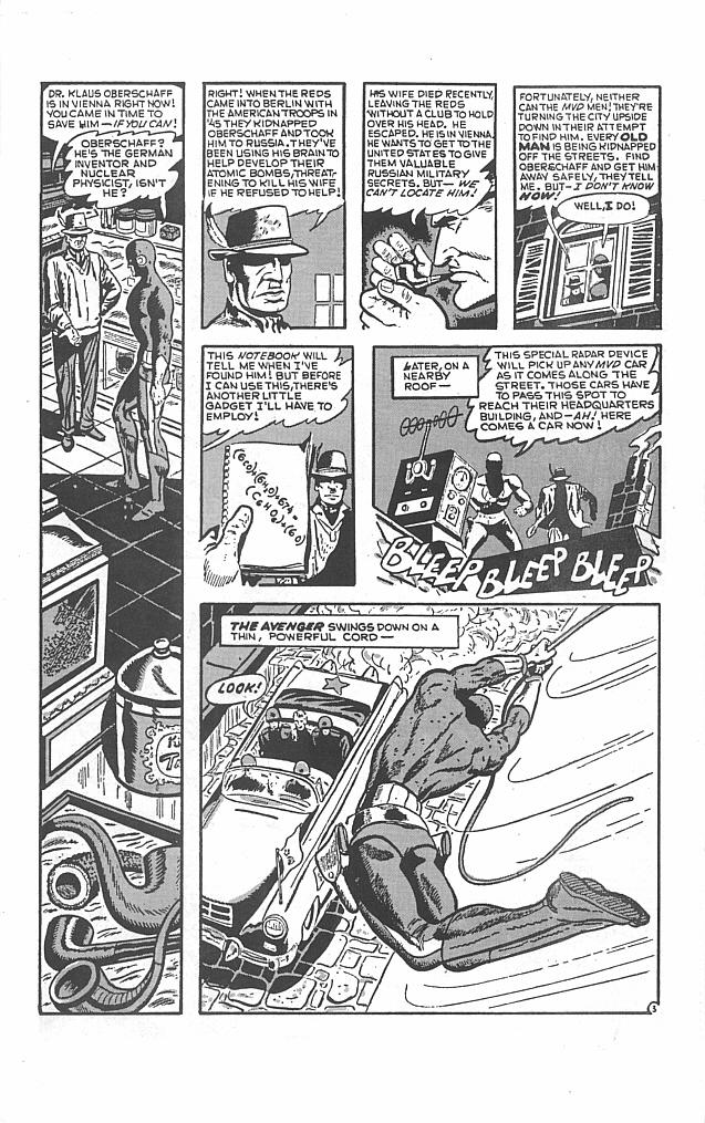 Read online Golden-Age Men of Mystery comic -  Issue #5 - 5