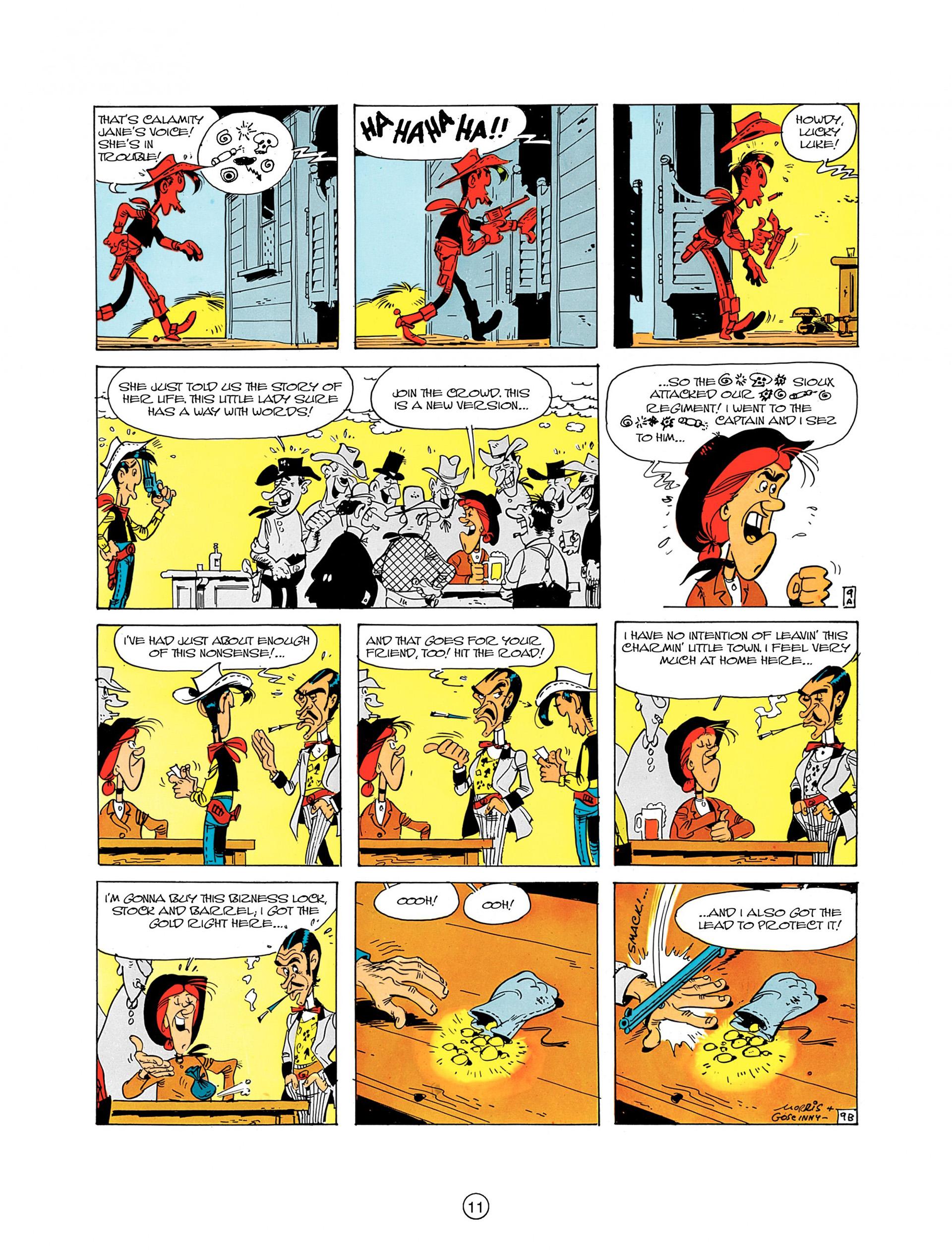 Read online A Lucky Luke Adventure comic -  Issue #8 - 11