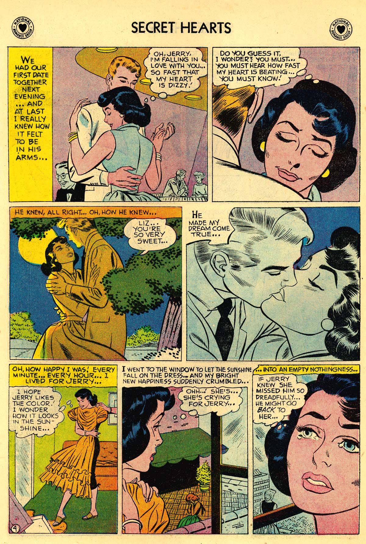 Read online Secret Hearts comic -  Issue #43 - 6