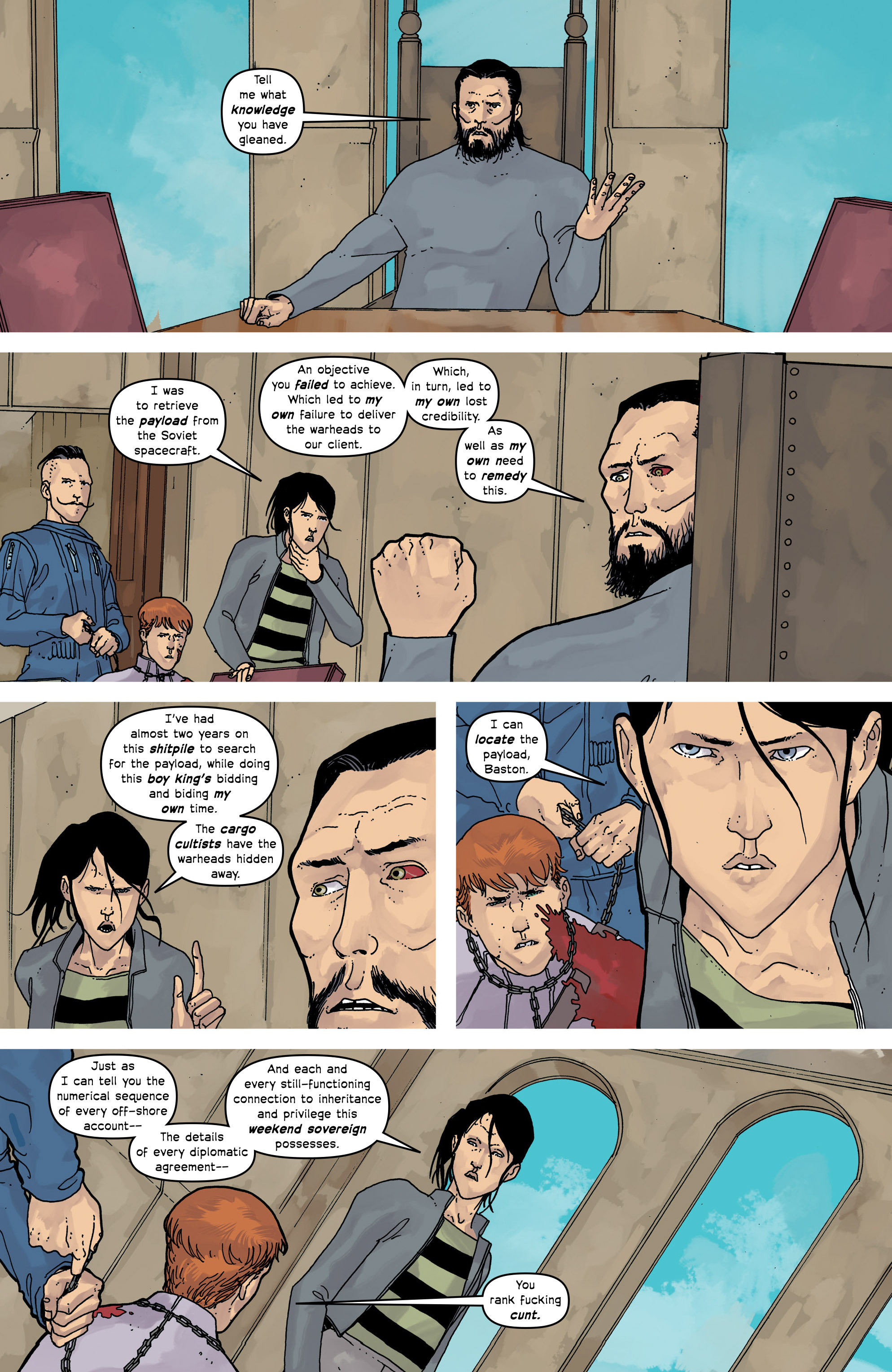 Read online Great Pacific comic -  Issue #16 - 16