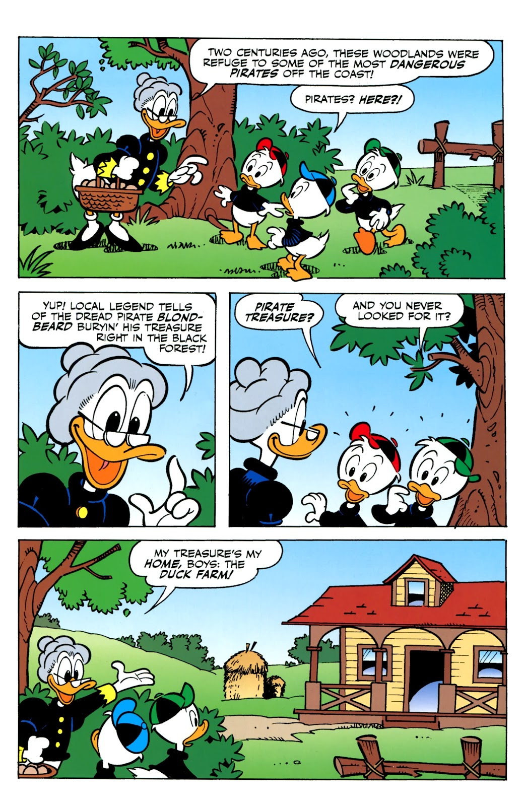 Walt Disney's Comics and Stories issue 730 - Page 18
