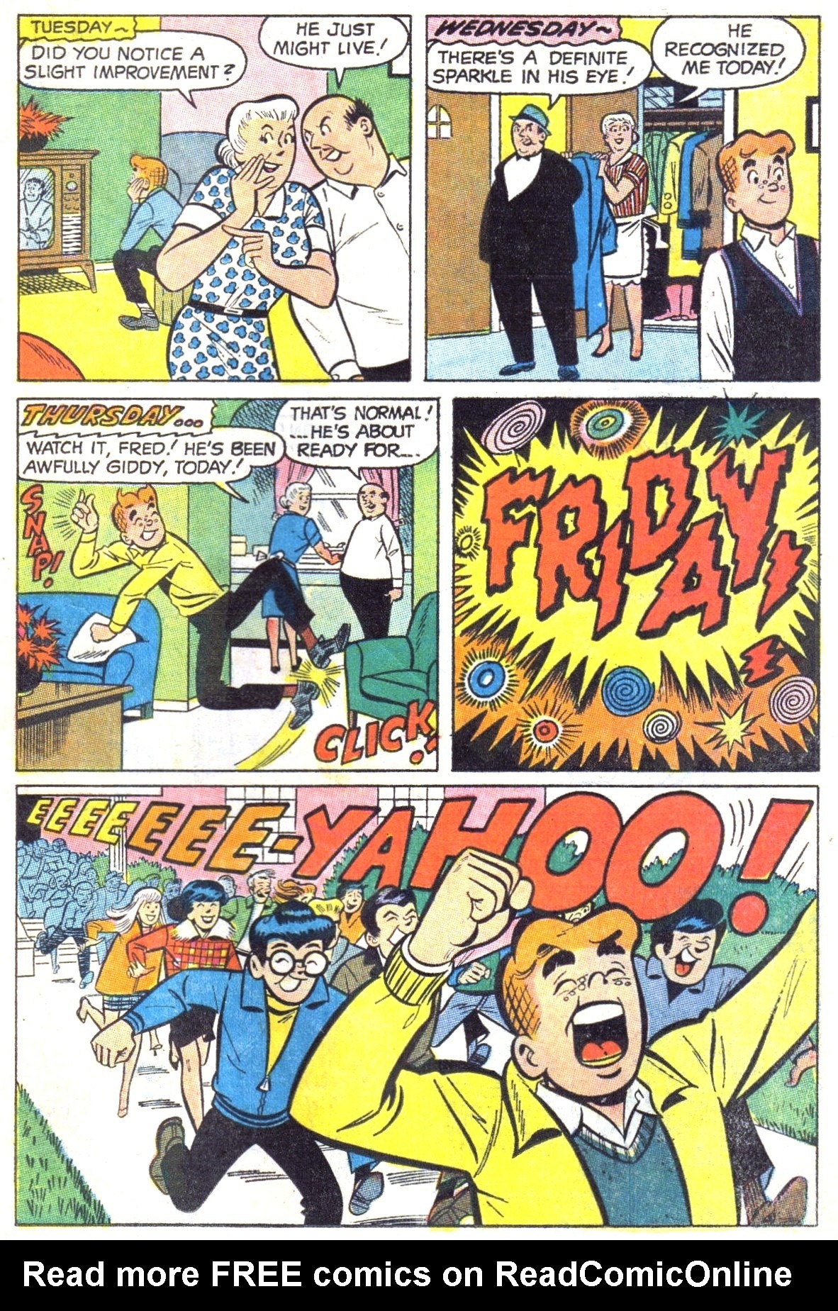 Read online Archie (1960) comic -  Issue #191 - 15