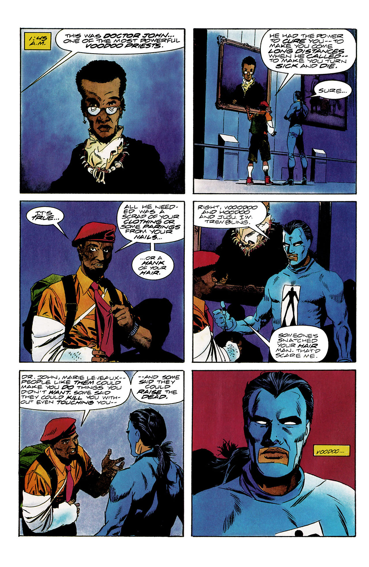 Read online Shadowman (1992) comic -  Issue #8 - 21