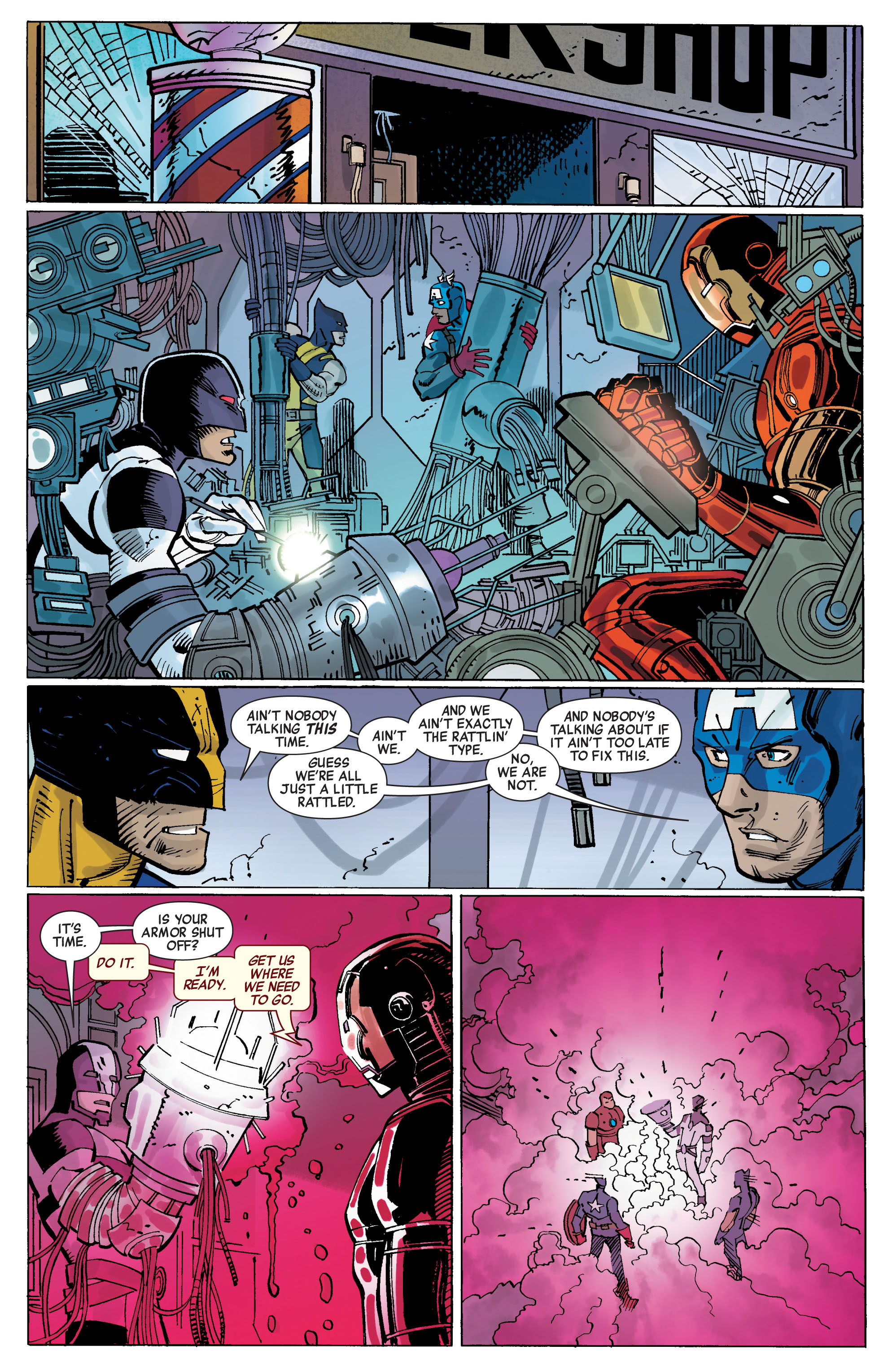 Read online Avengers (2010) comic -  Issue #5 - 16