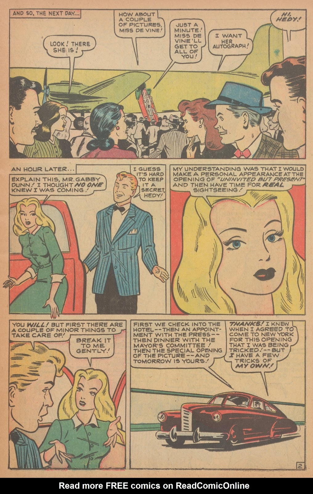 Read online Nellie The Nurse (1945) comic -  Issue #18 - 17