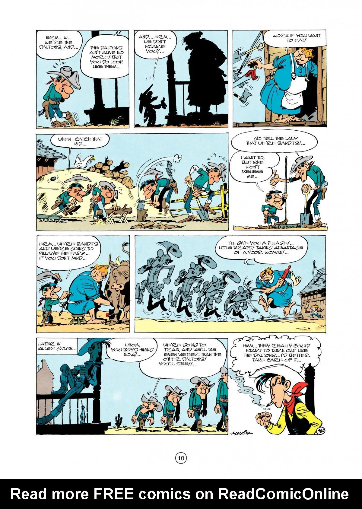 Read online A Lucky Luke Adventure comic -  Issue #28 - 11