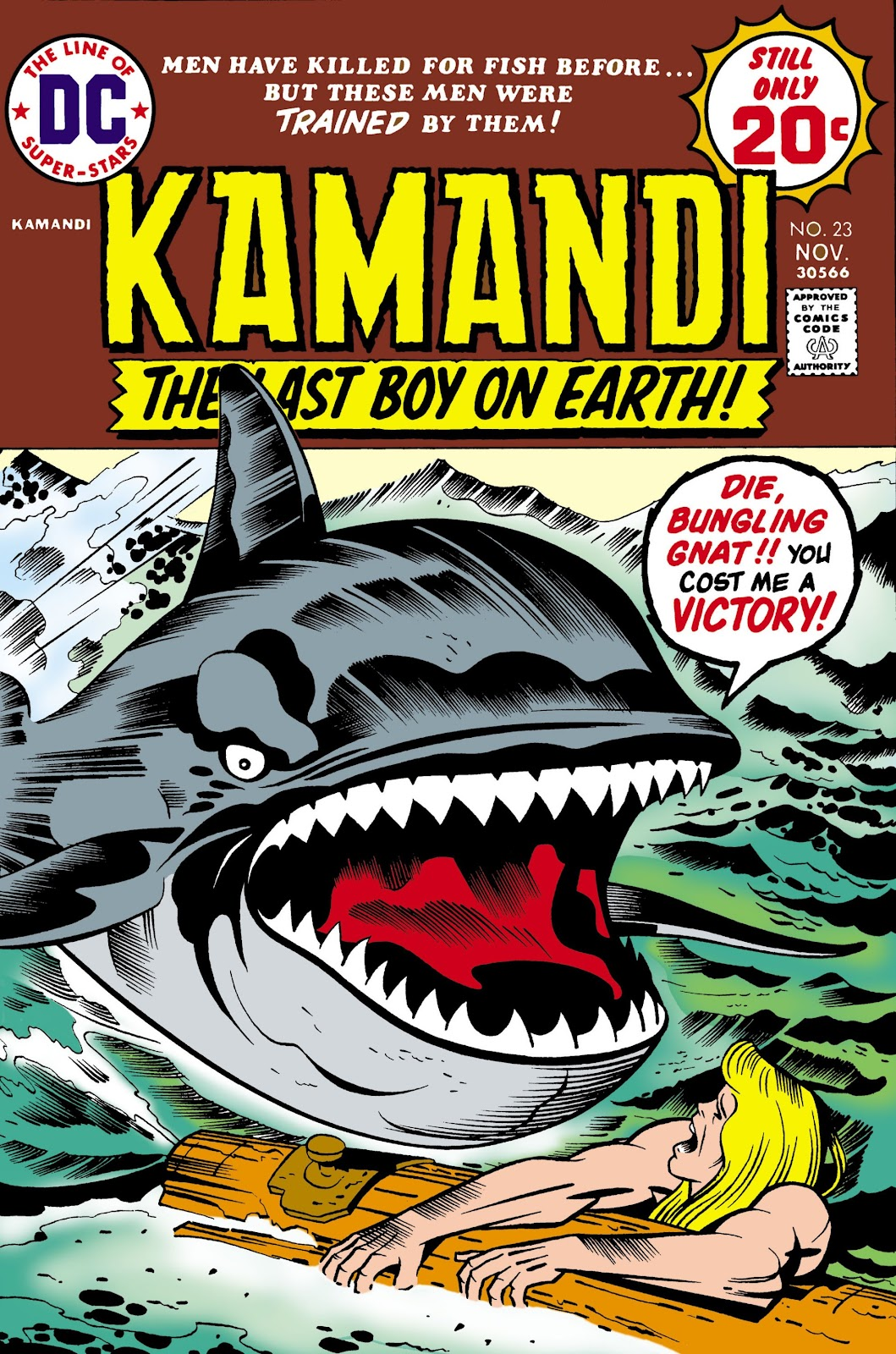 Kamandi, The Last Boy On Earth issue 23 - Page 1