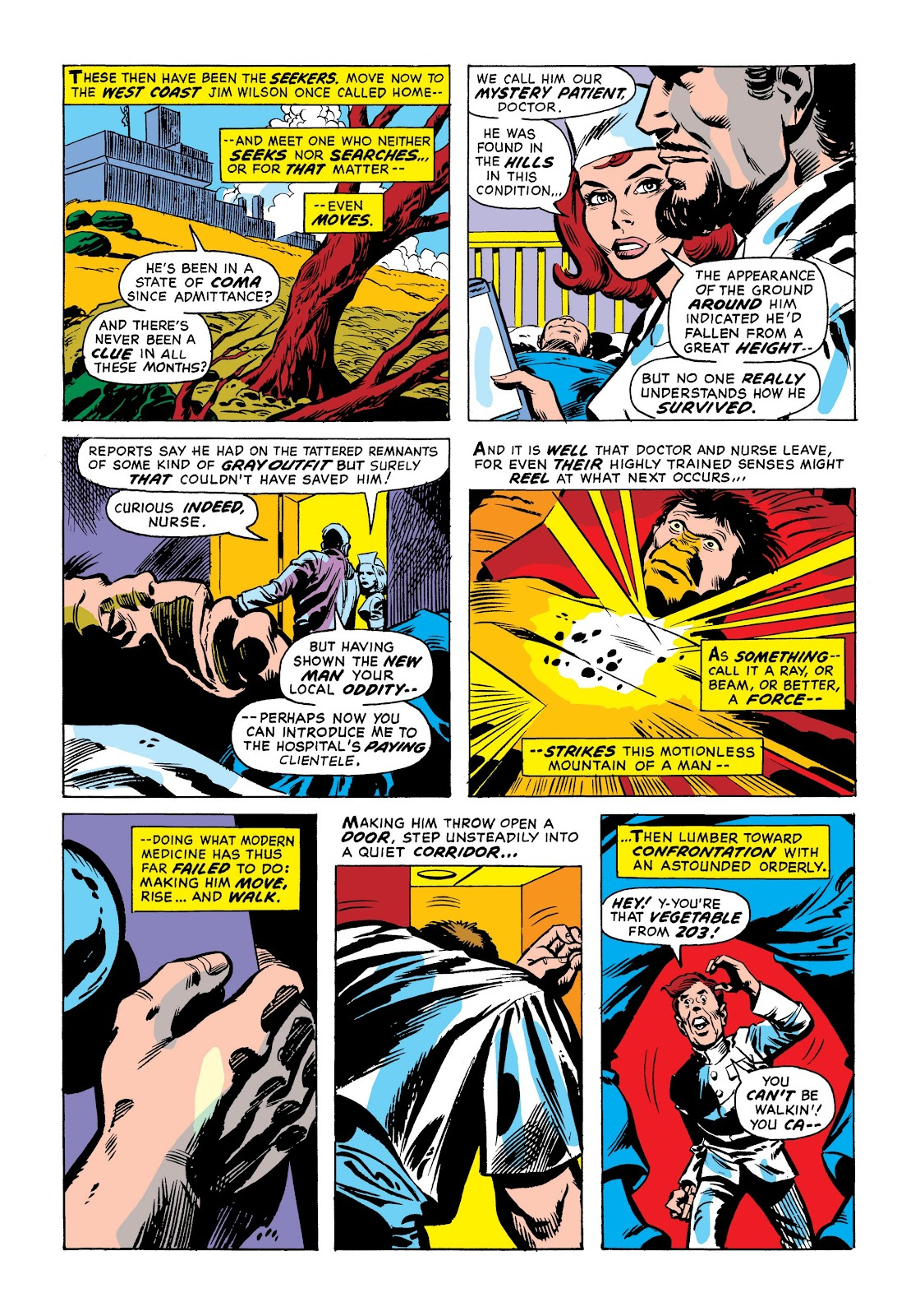 Read online Marvel Masterworks: The Incredible Hulk comic -  Issue # TPB 9 (Part 1) - 15