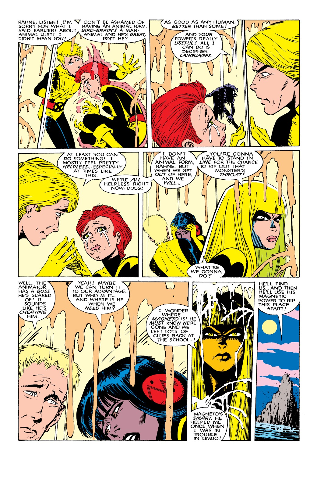 Read online X-Men Milestones: Fall of the Mutants comic -  Issue # TPB (Part 2) - 26