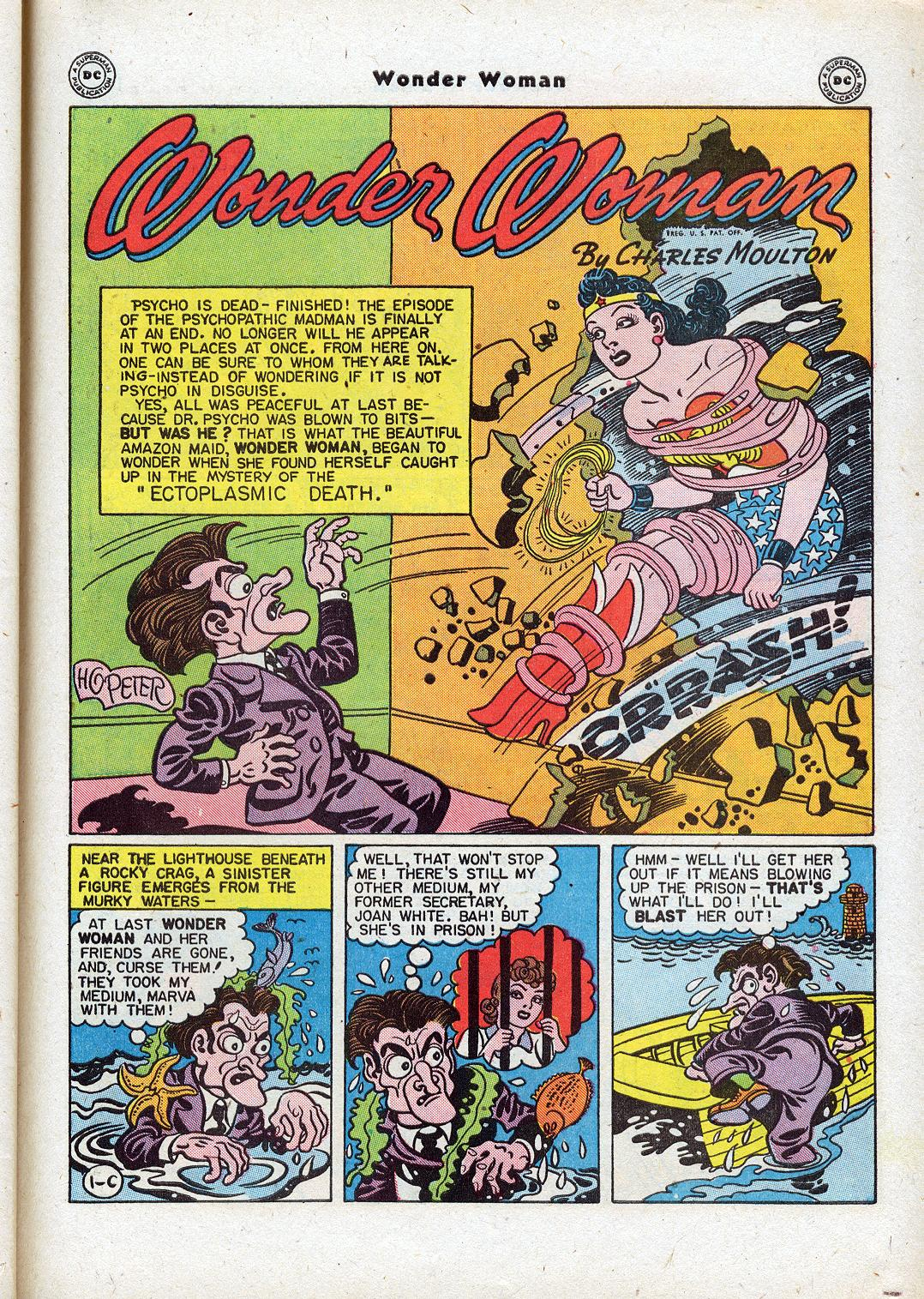 Read online Wonder Woman (1942) comic -  Issue #18 - 39