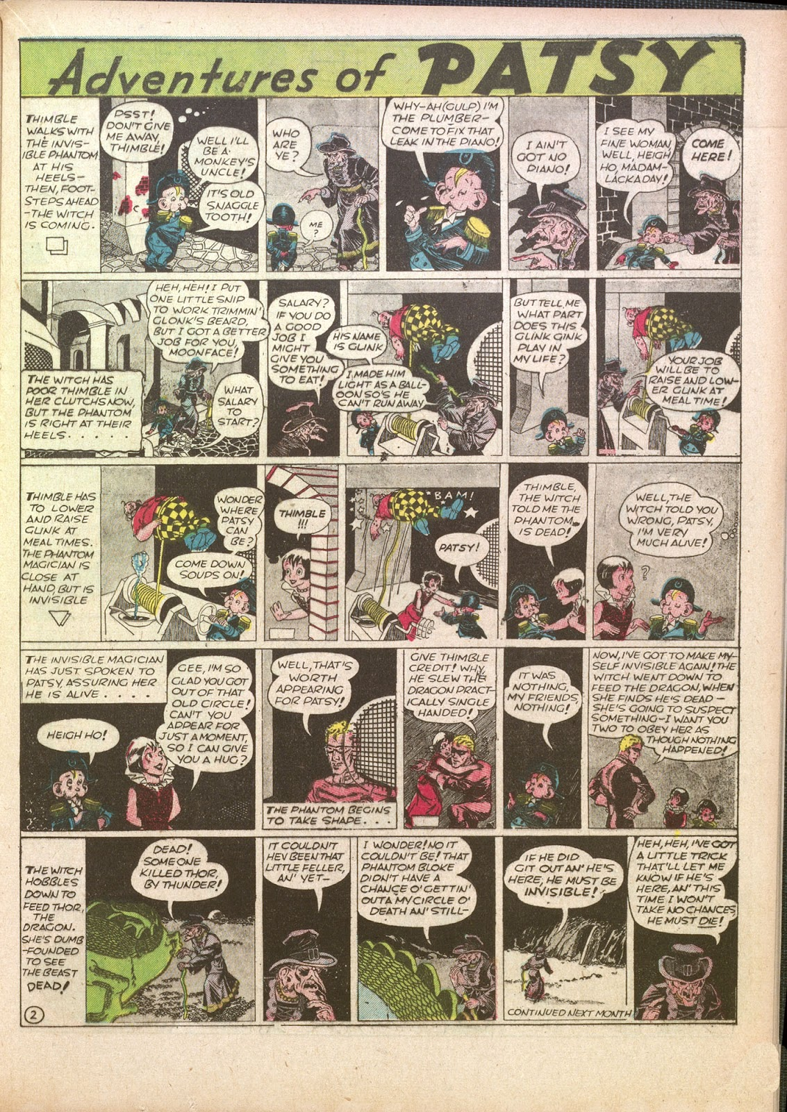 Read online Famous Funnies comic -  Issue #35 - 27