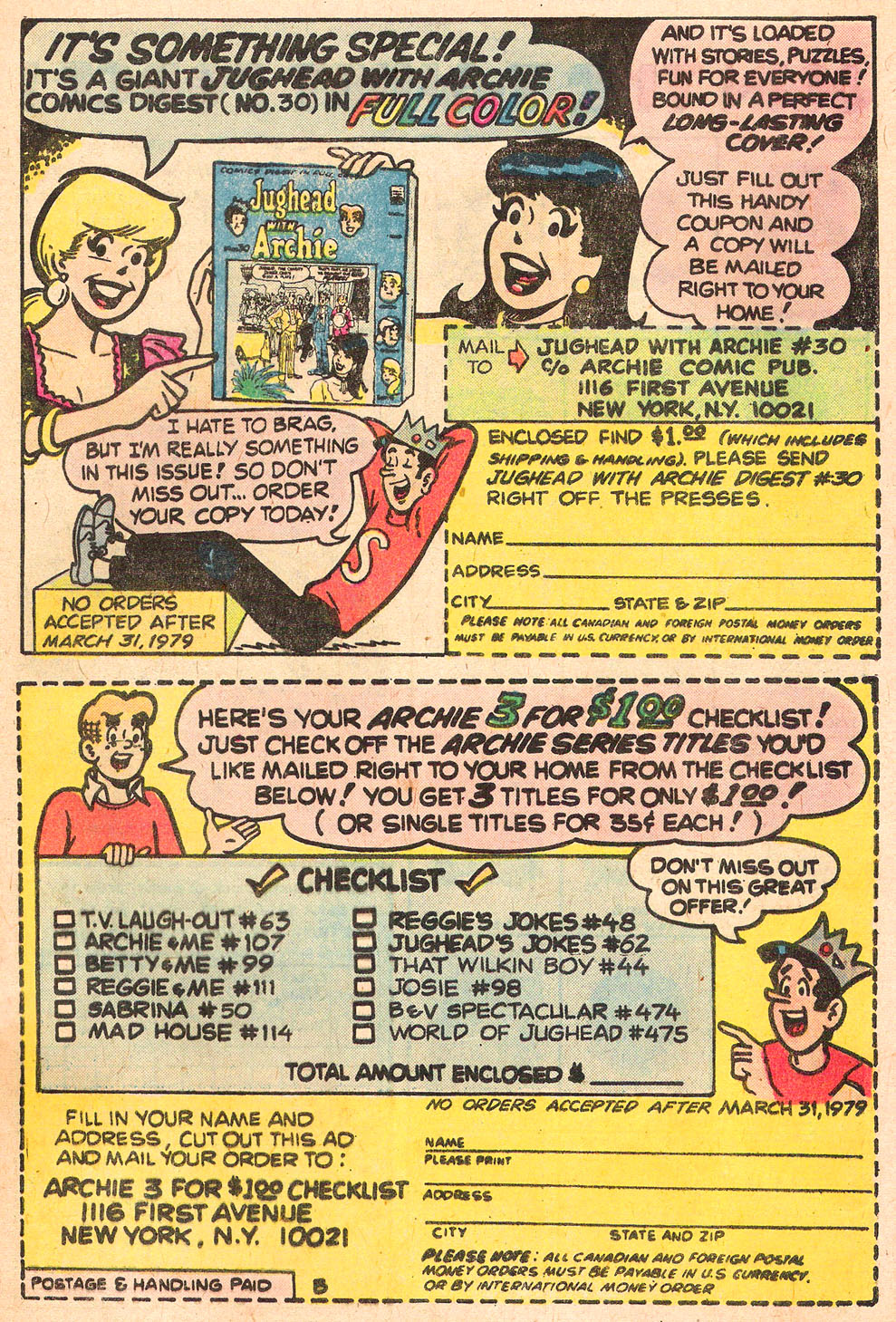 Read online Archie's Girls Betty and Veronica comic -  Issue #276 - 33