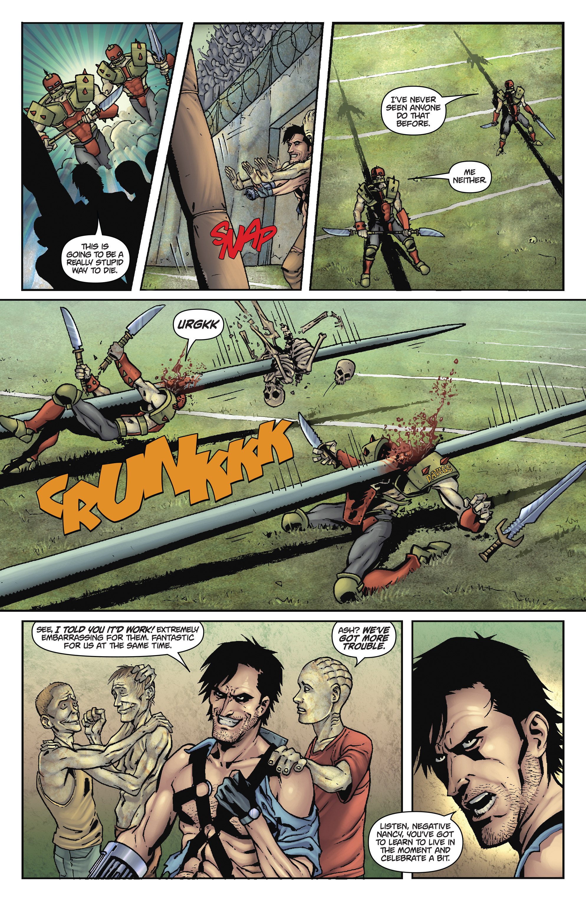 Read online Army of Darkness: The Long Road Home comic -  Issue #Army of Darkness: The Long Road Home TPB - 64