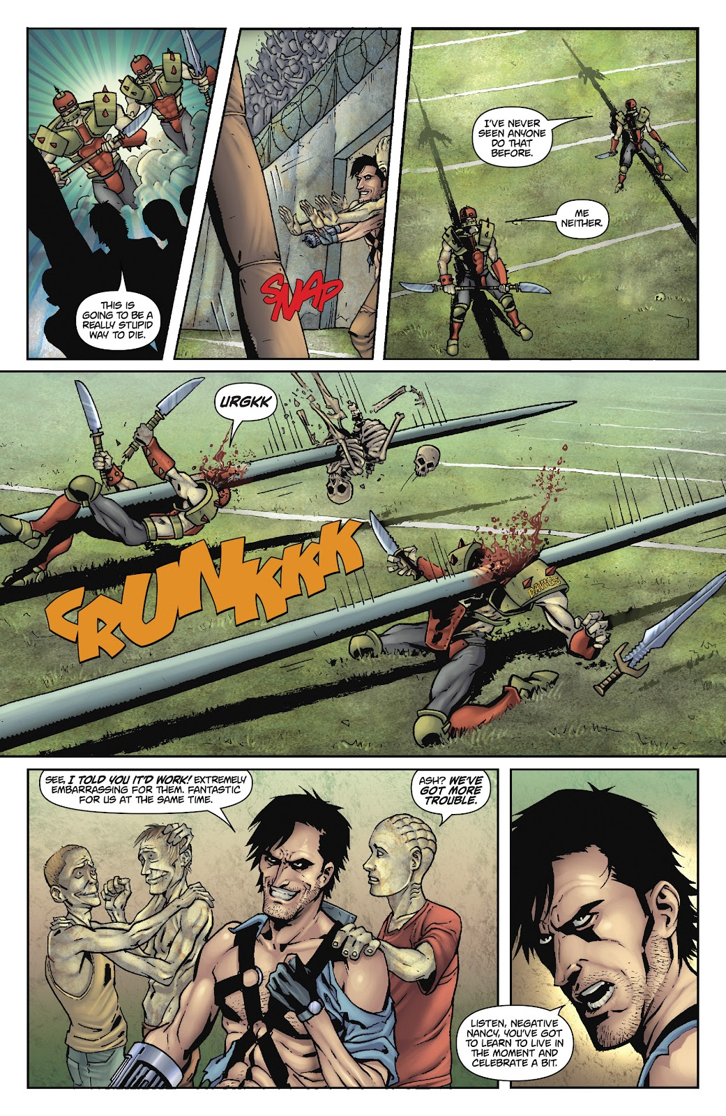 Army of Darkness: The Long Road Home issue TPB - Page 64