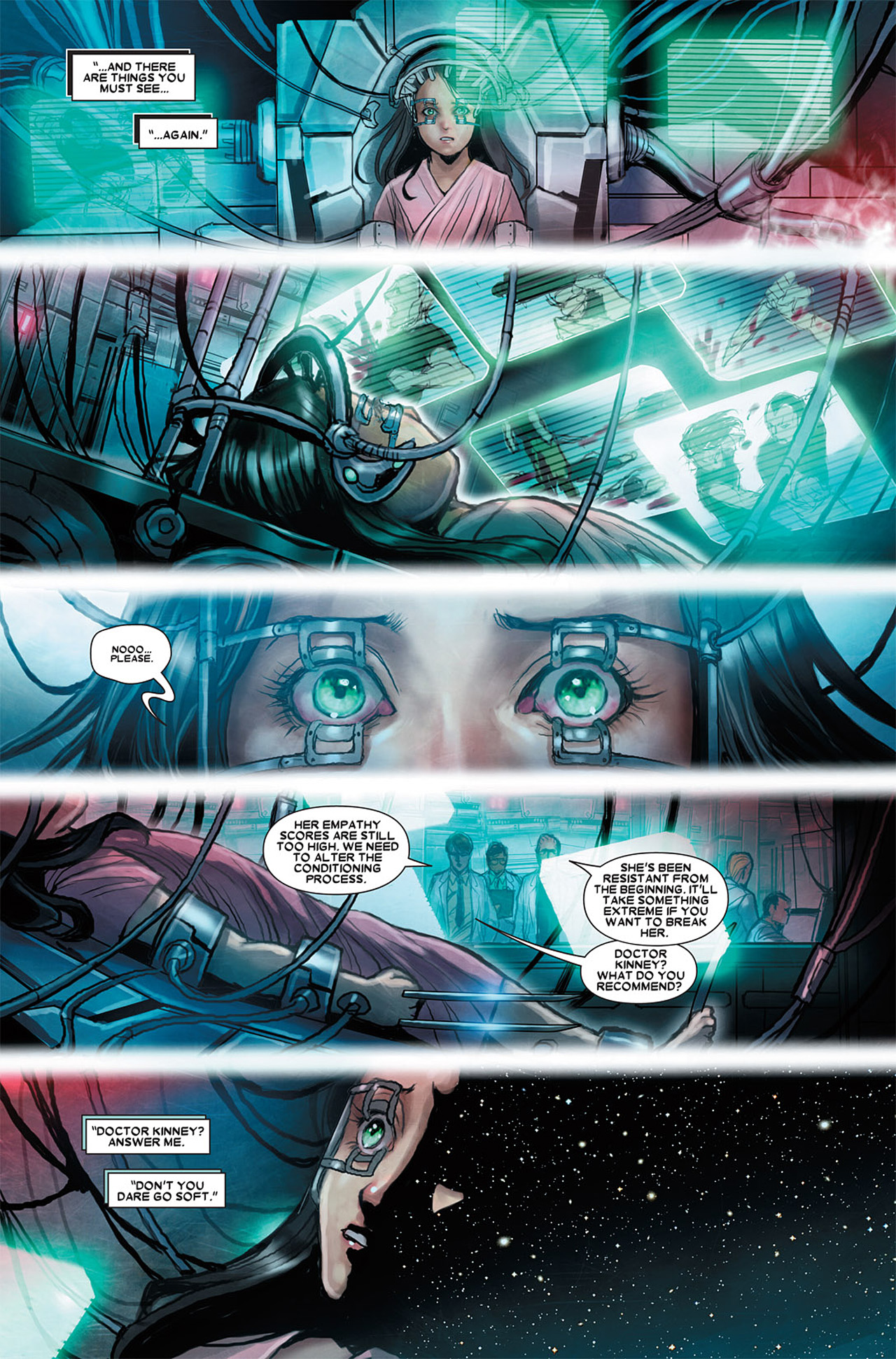 Read online X-23 (2010) comic -  Issue #3 - 10