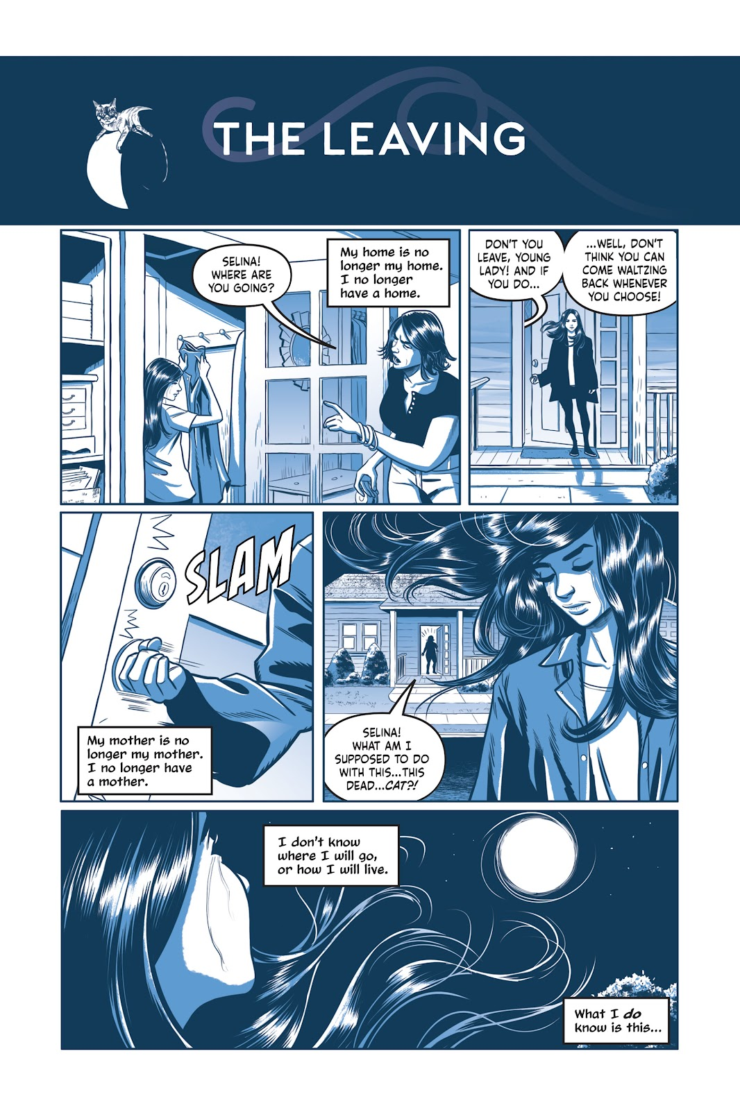Read online Under the Moon: A Catwoman Tale comic -  Issue # TPB (Part 1) - 64