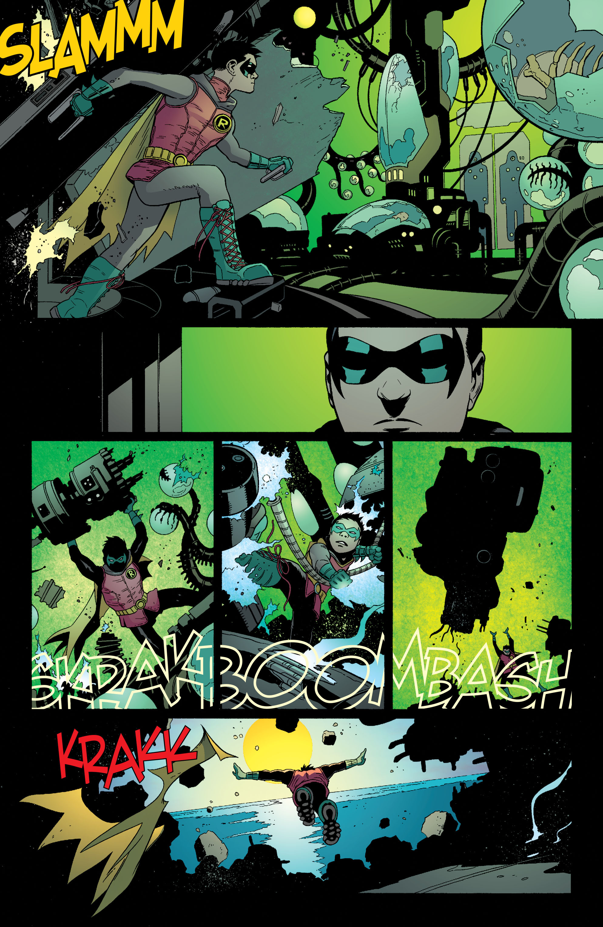Read online Batman and Robin (2011) comic -  Issue #38 - 16