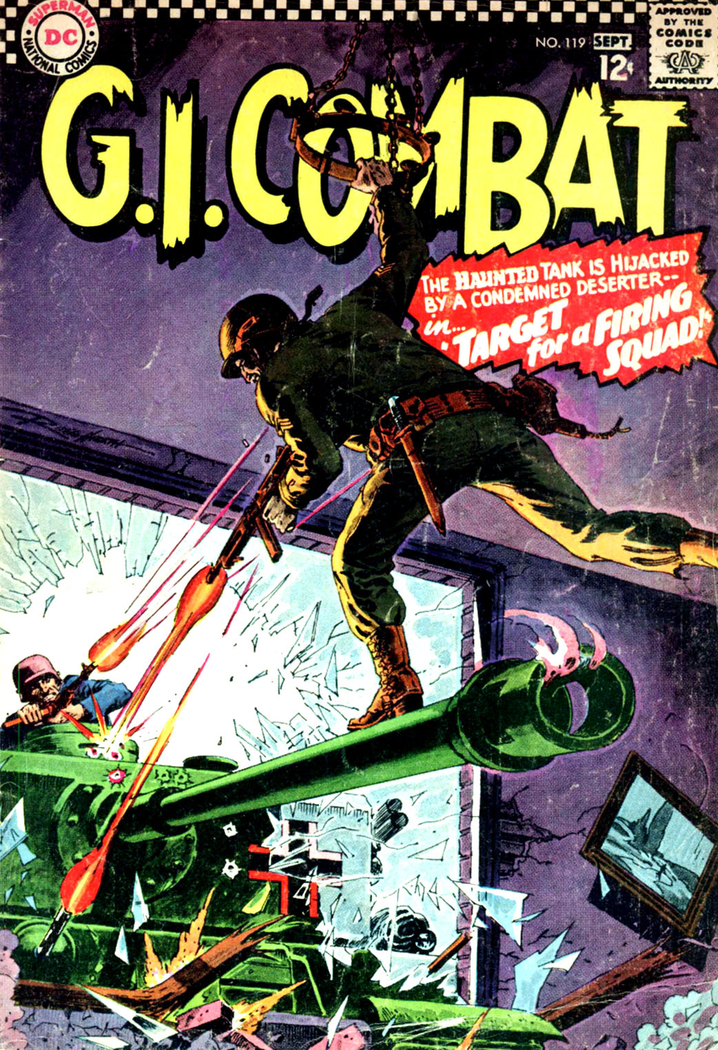 G.I. Combat (1952) issue 119 - Page 1