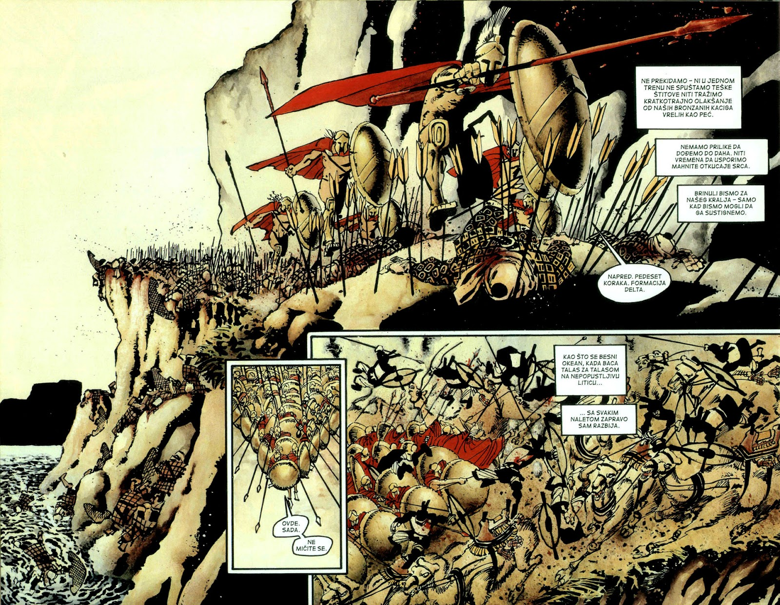 Read online 300 (2007) comic -  Issue # TPB - 53