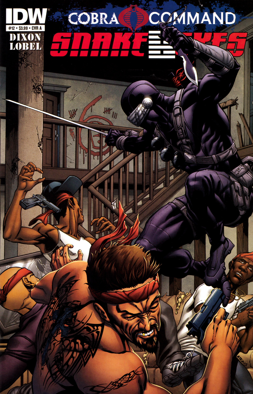 Read online G.I. Joe: Snake Eyes comic -  Issue #12 - 1