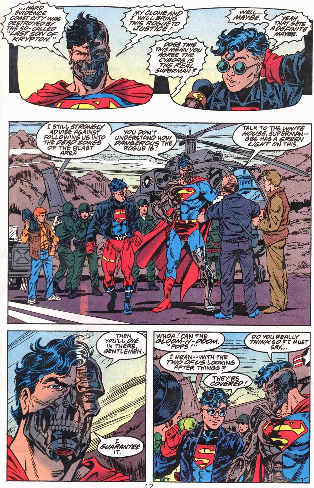 Read online Adventures of Superman (1987) comic -  Issue #503 - 13
