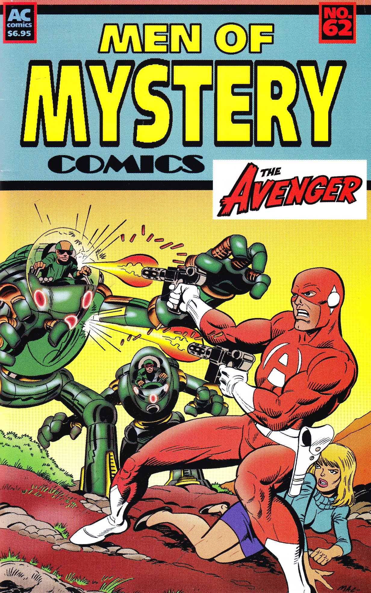Read online Men of Mystery Comics comic -  Issue #62 - 1